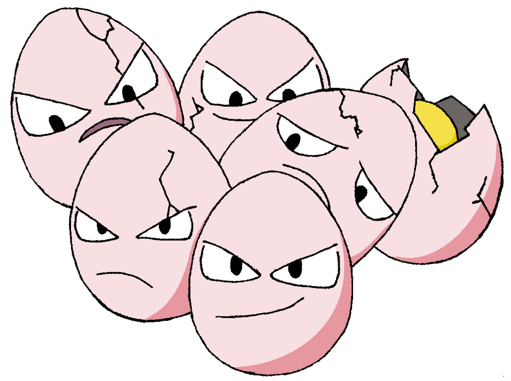 Exeggcute | Full HD Pictures