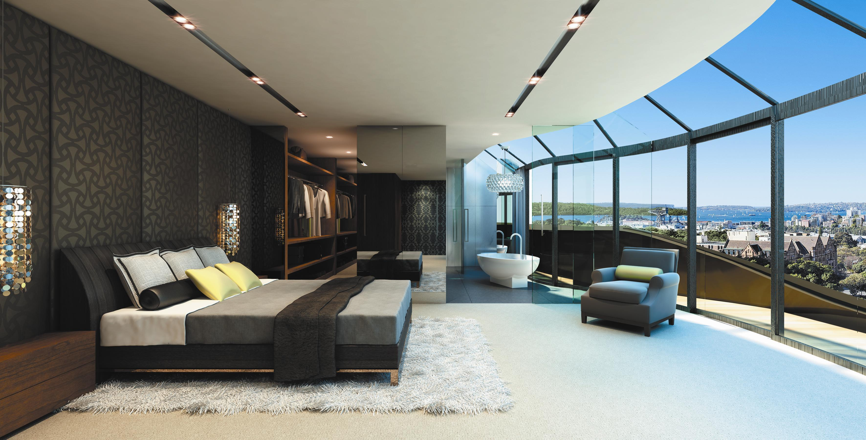 Apartment With Glass Doors Wallpapers And Images