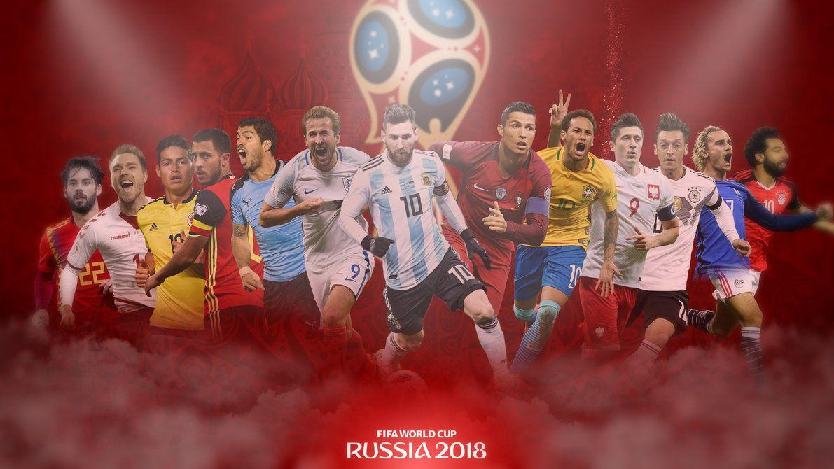 FIFA World cup 2018 Russia Desktop Wallpaper by GraphicSamHD on ...