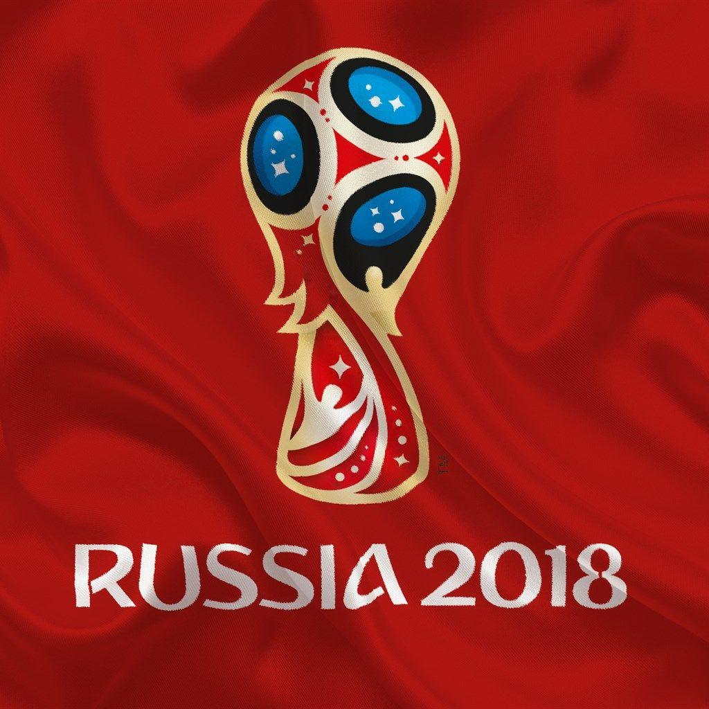 Download wallpapers Russia 2018, logo, football, world ...