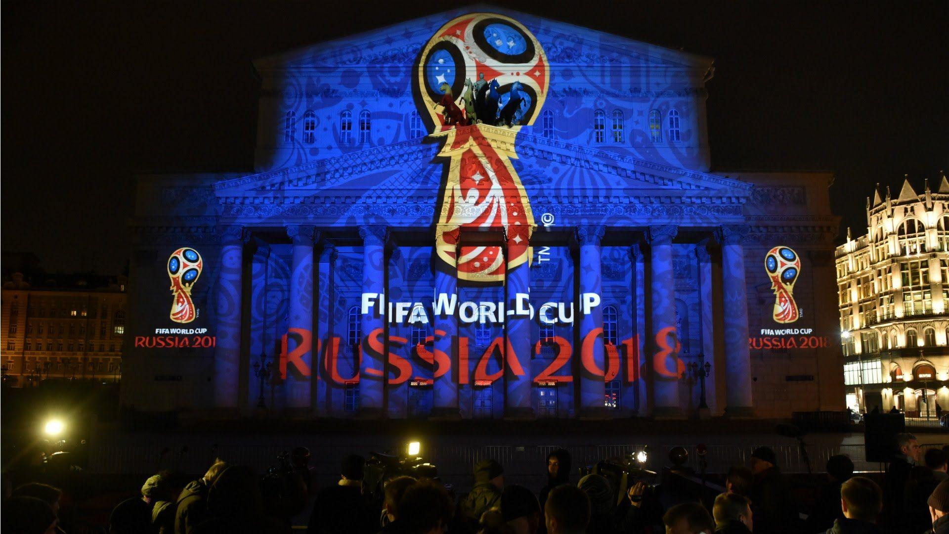 The Dazzling Unveiling Of The Russia FIFA World Cup 2018 Logo ...