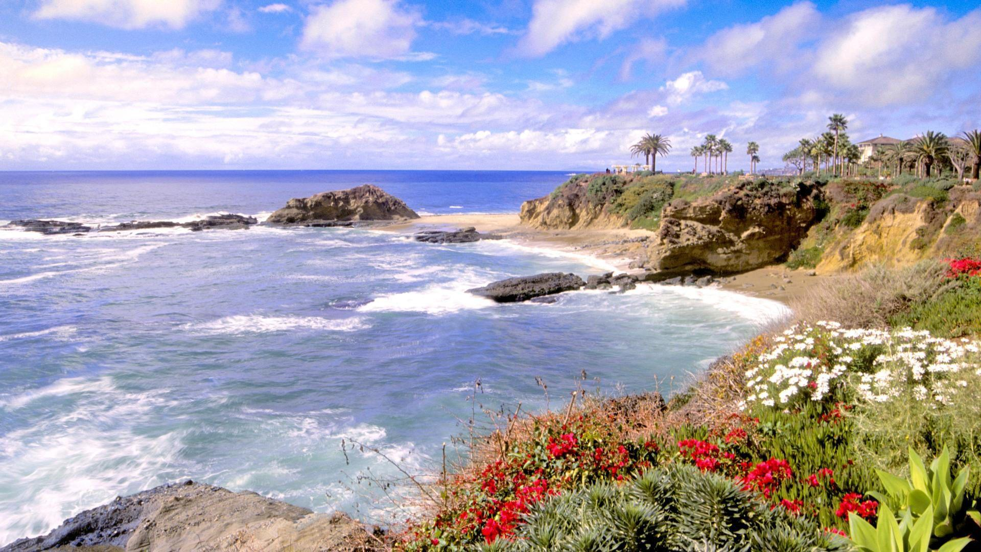 California Beaches Wallpaper - WallpaperSafari