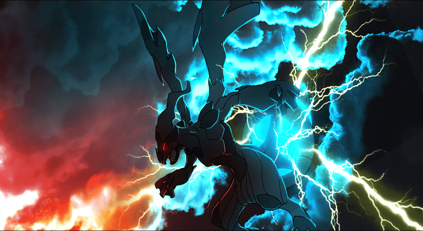 19 Zekrom (Pokemon) HD Wallpapers | Background Images - Wallpaper Abyss