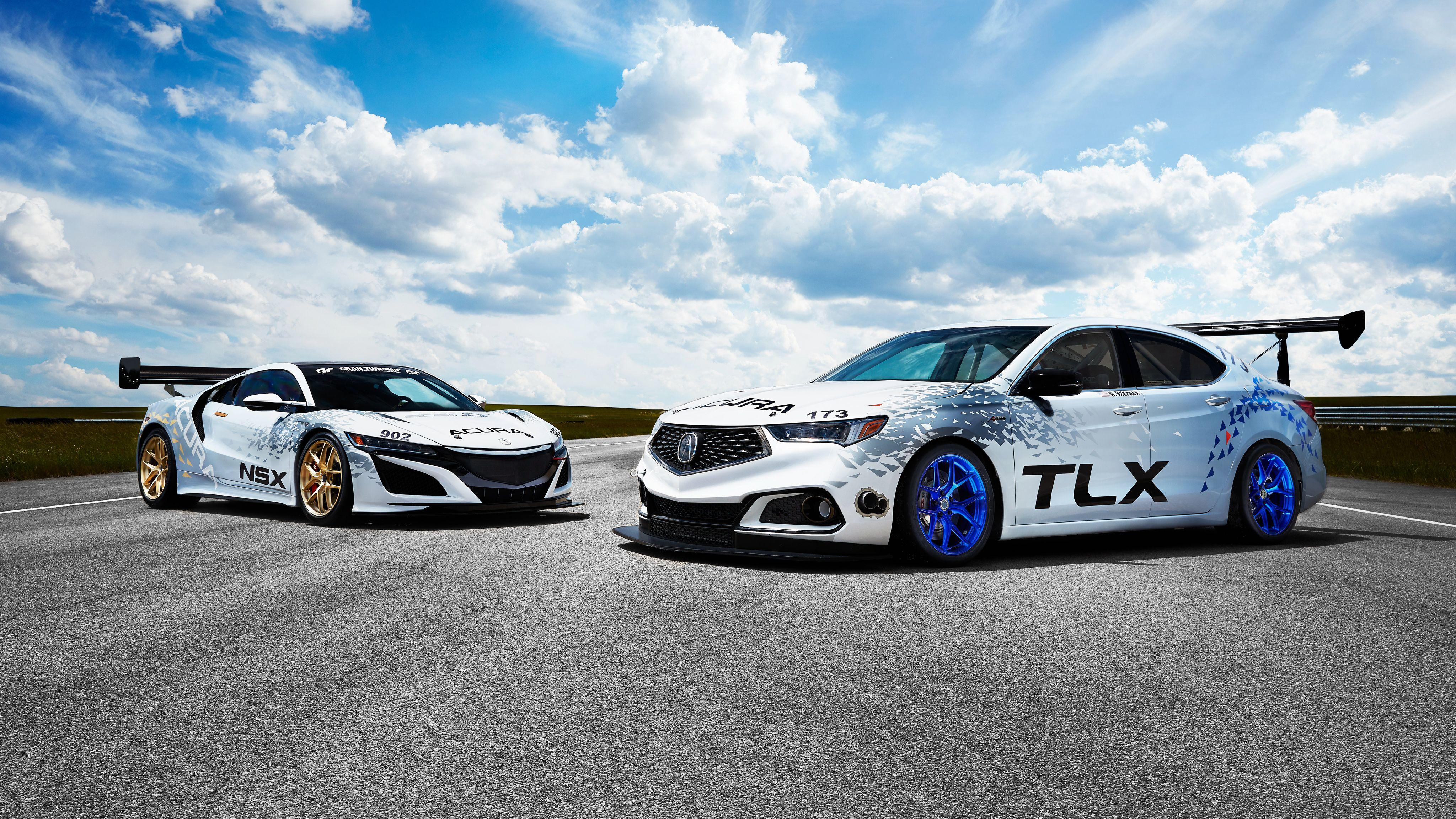 Acura TLX 2018 4K Wallpaper | HD Car Wallpapers