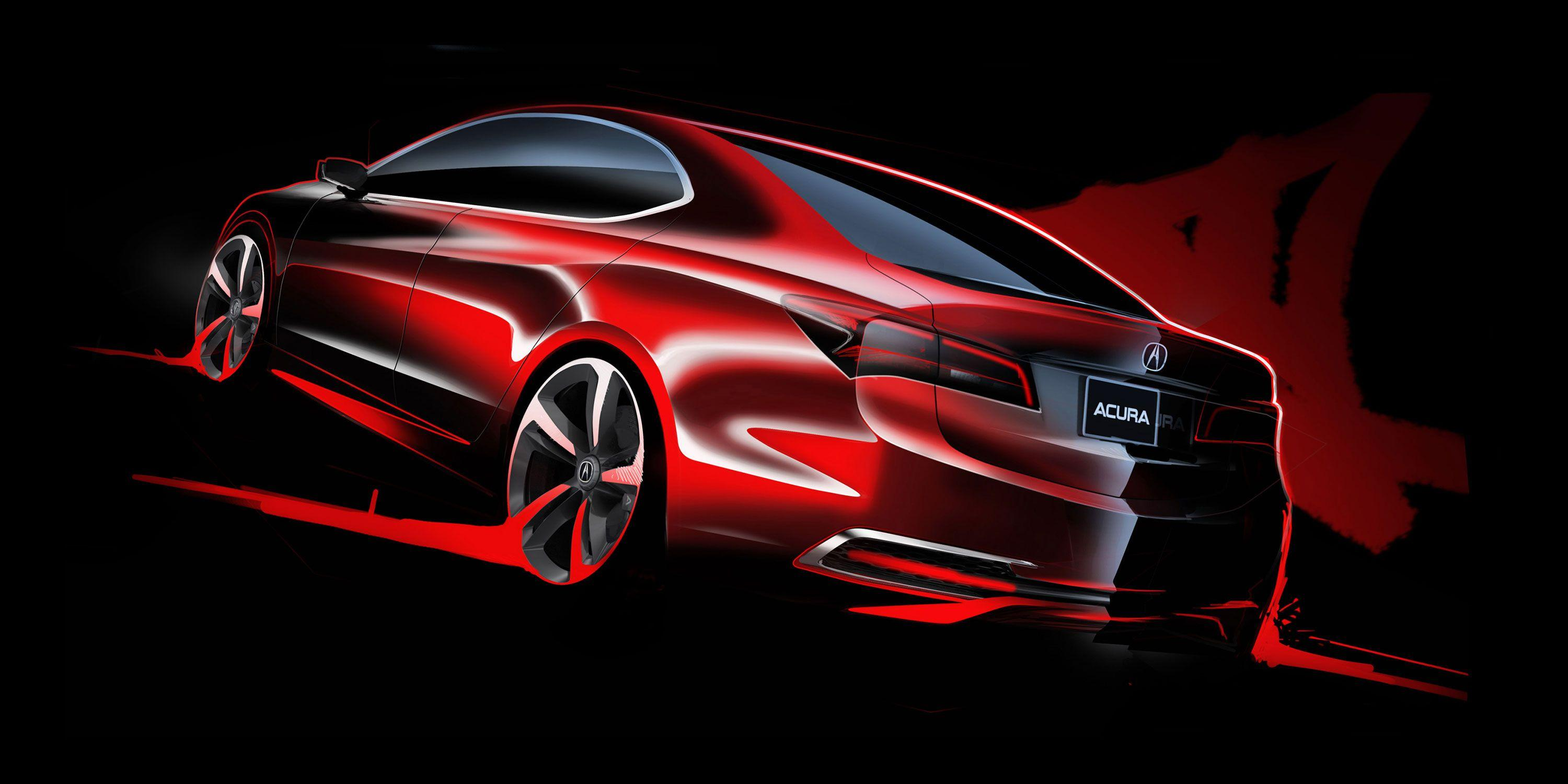 Acura TLX Car Design Wallpaper - gearheadwallpapers