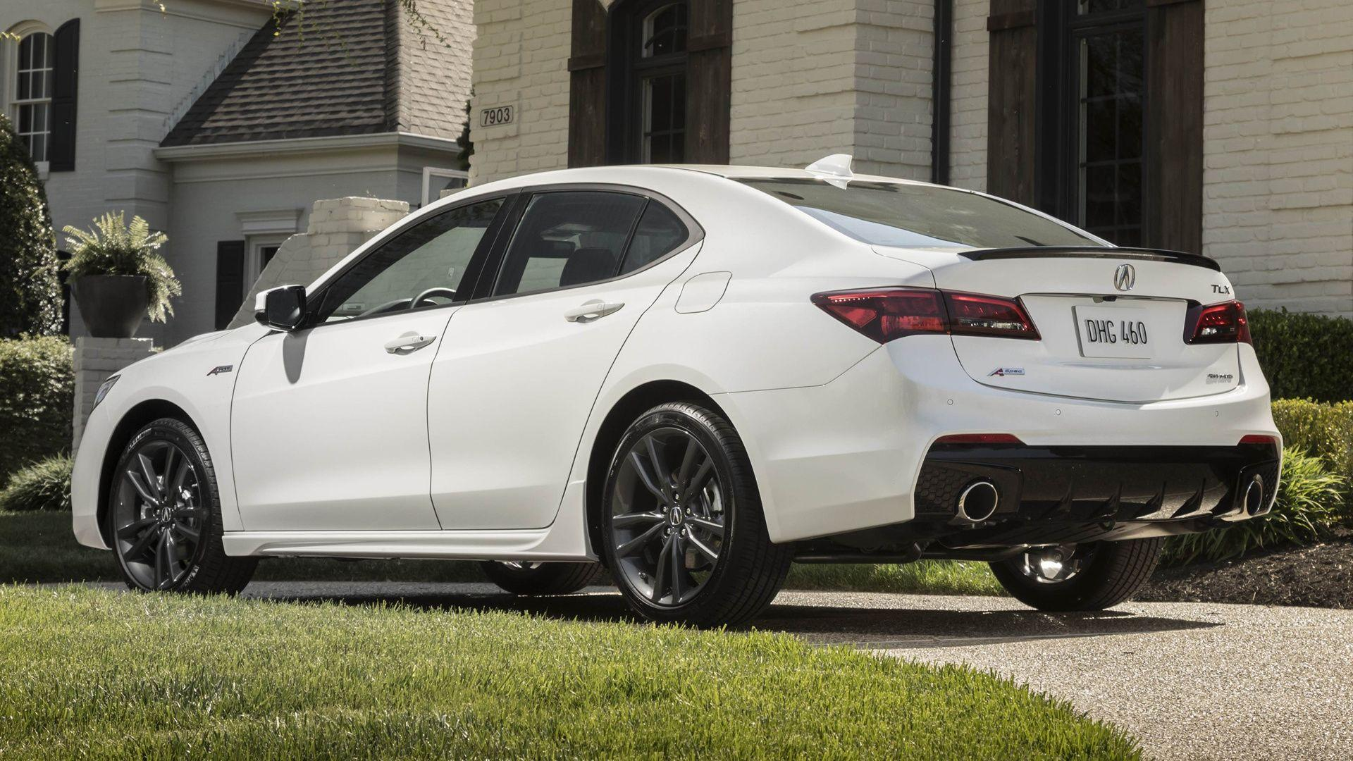 2018 Acura TLX A-Spec Full HD Wallpaper and Background Image ...