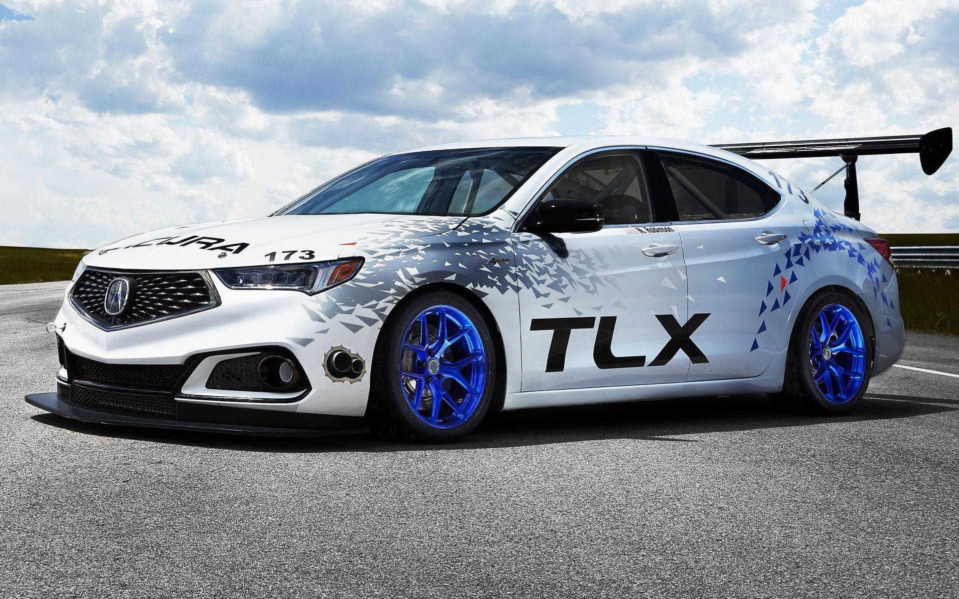 Acura TLX A-Spec Race Car (2017) Wallpapers and HD Images - Car Pixel