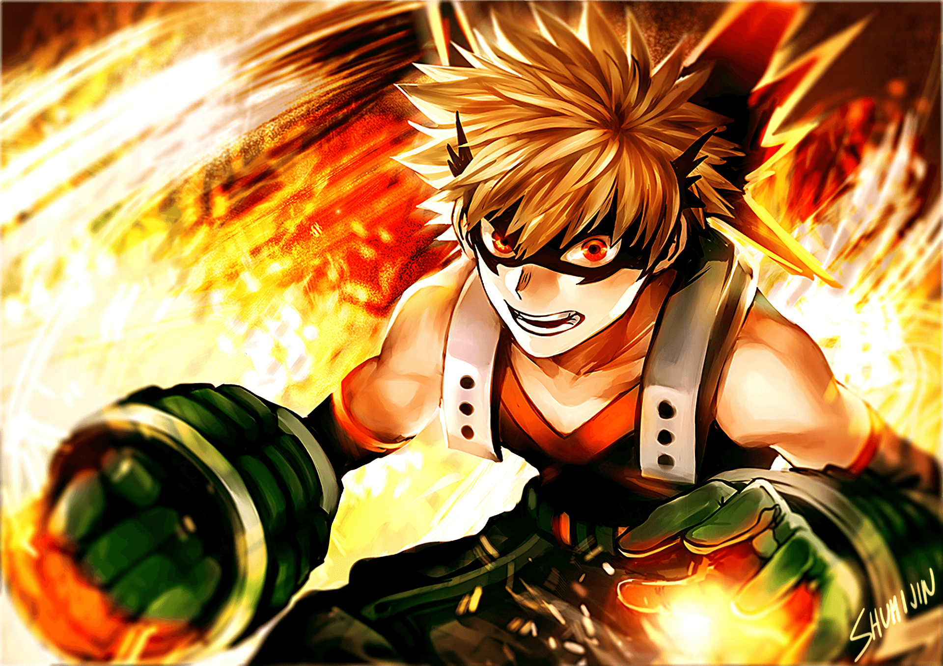 Katsuki Bakugo Wallpapers Wallpaper Cave