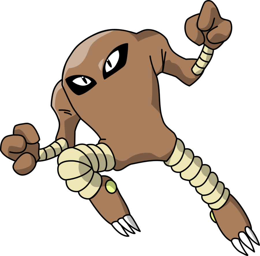 Hitmonlee by Mighty355 on DeviantArt