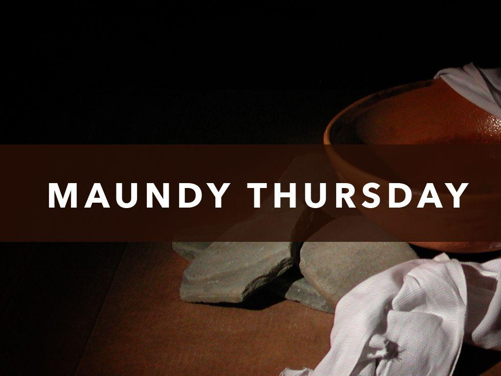 Maundy Thursday 2014 | Westbury United Methodist Church