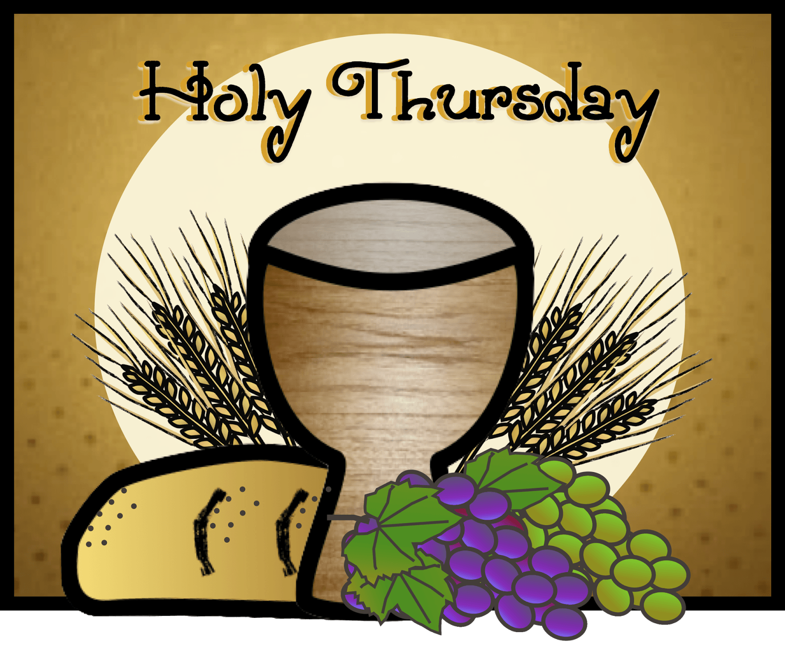 Faith Filled Freebies: Free Holy Thursday Clip Art from ...