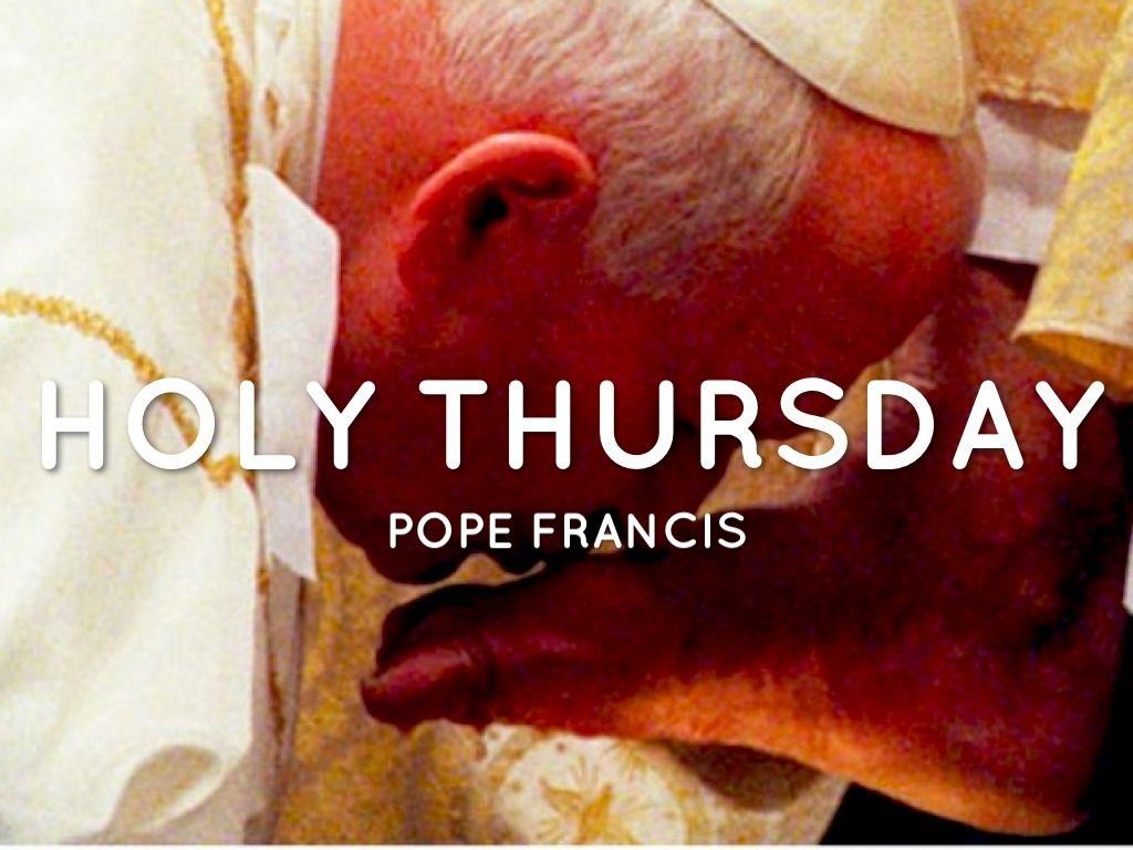 Holy Thursday Wallpaper - impremedia.net