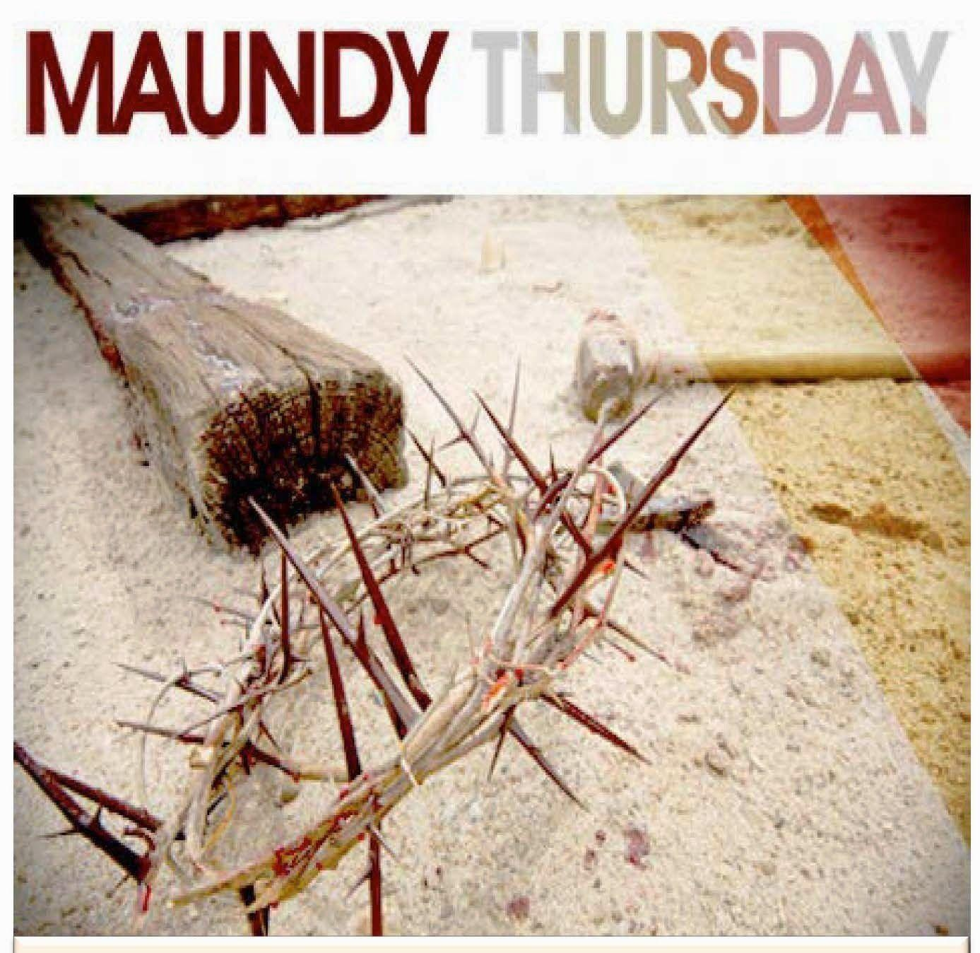 Maundy Thursday Service with Holy Communion