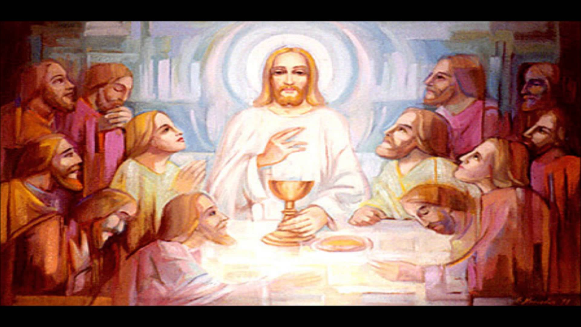 Holy Thursday Music - YouTube