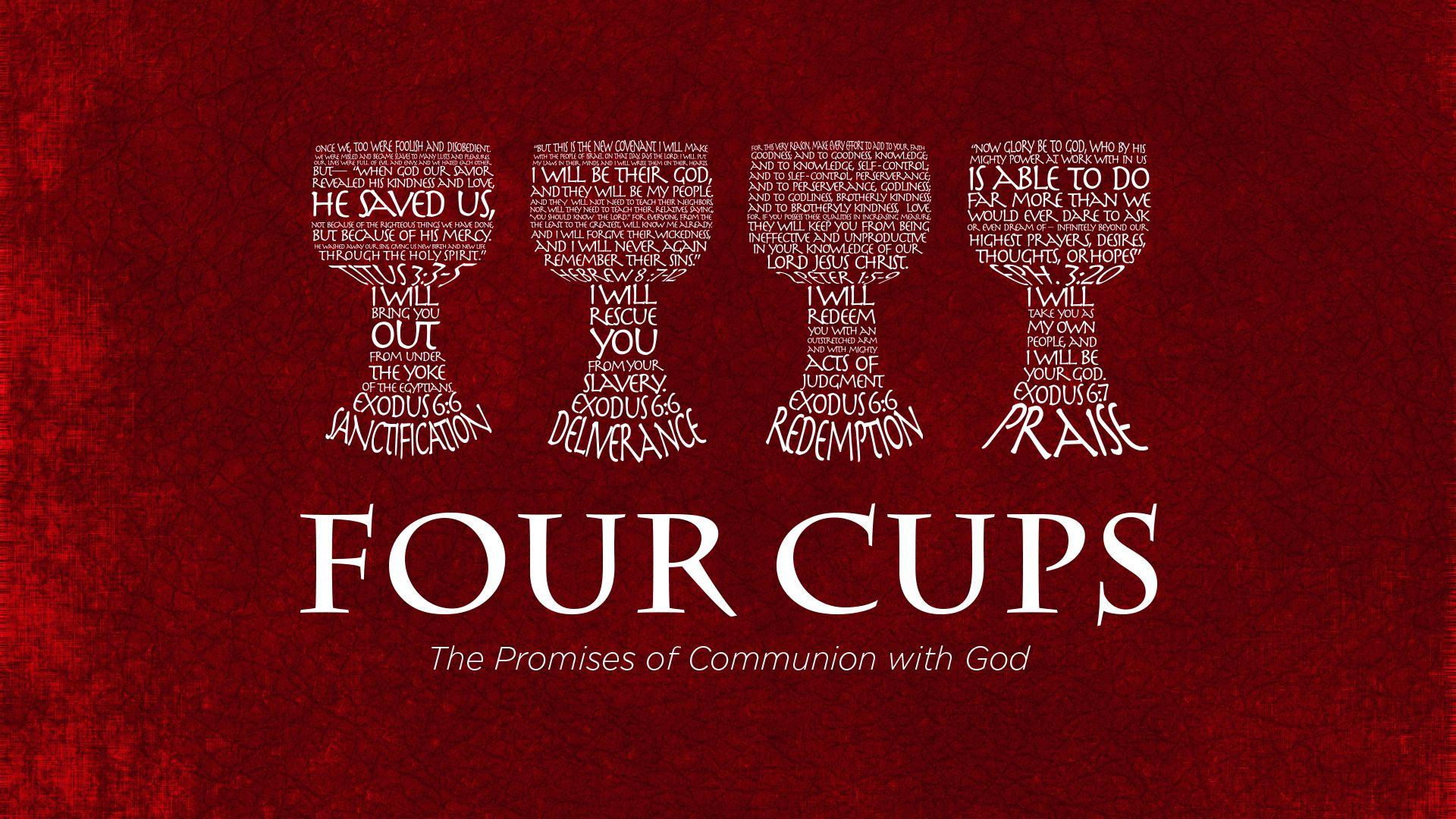 The Four Cups of Passover | GRACE in TORAH