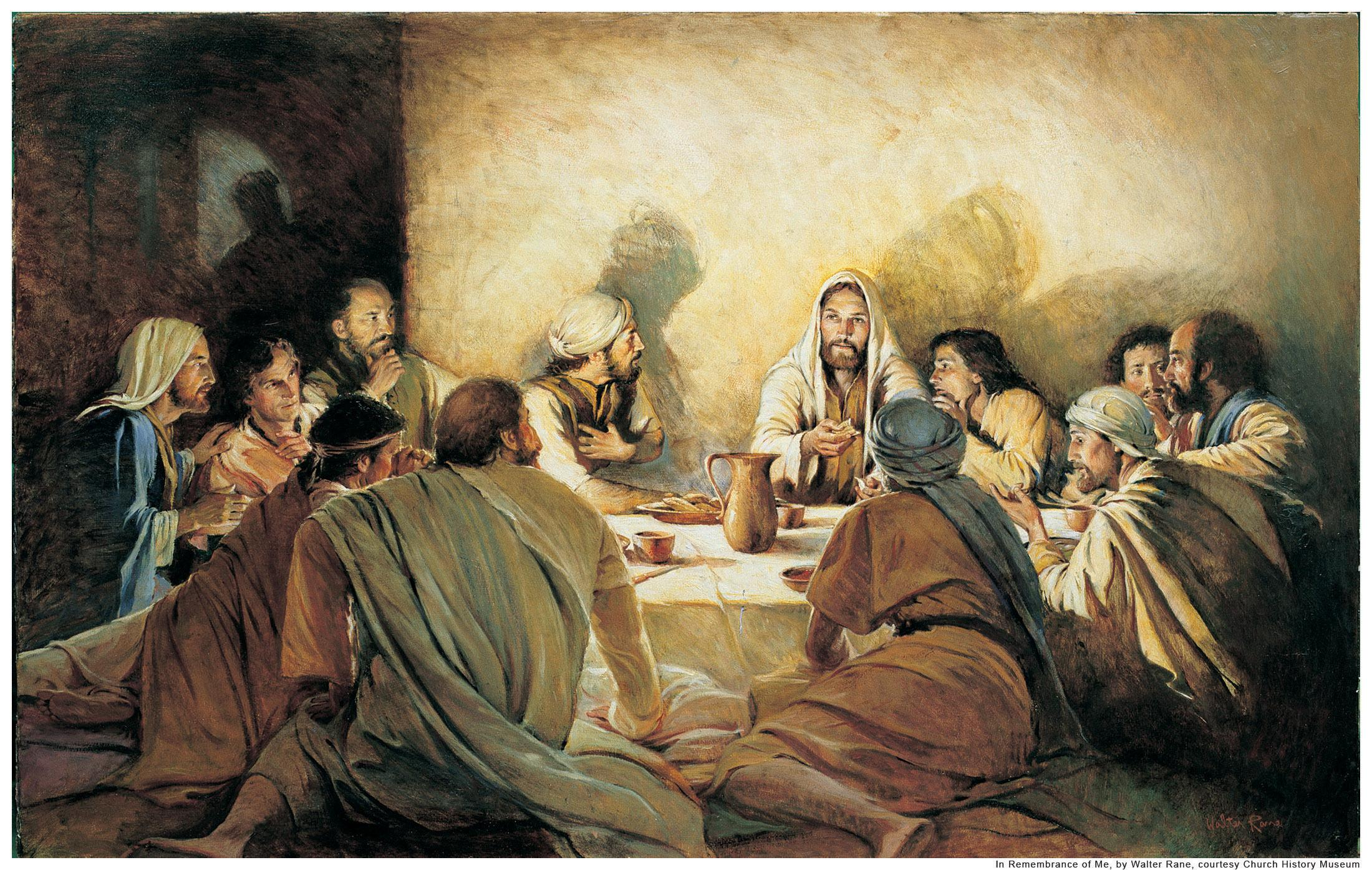 Download 2200x1395 Jesus At Passover wallpaper