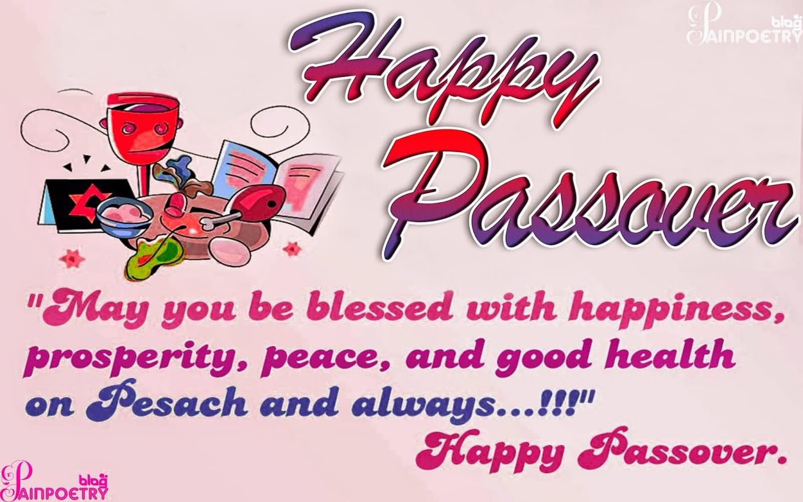 Happy Passover Wishes Greetings Message Image | Picsmine