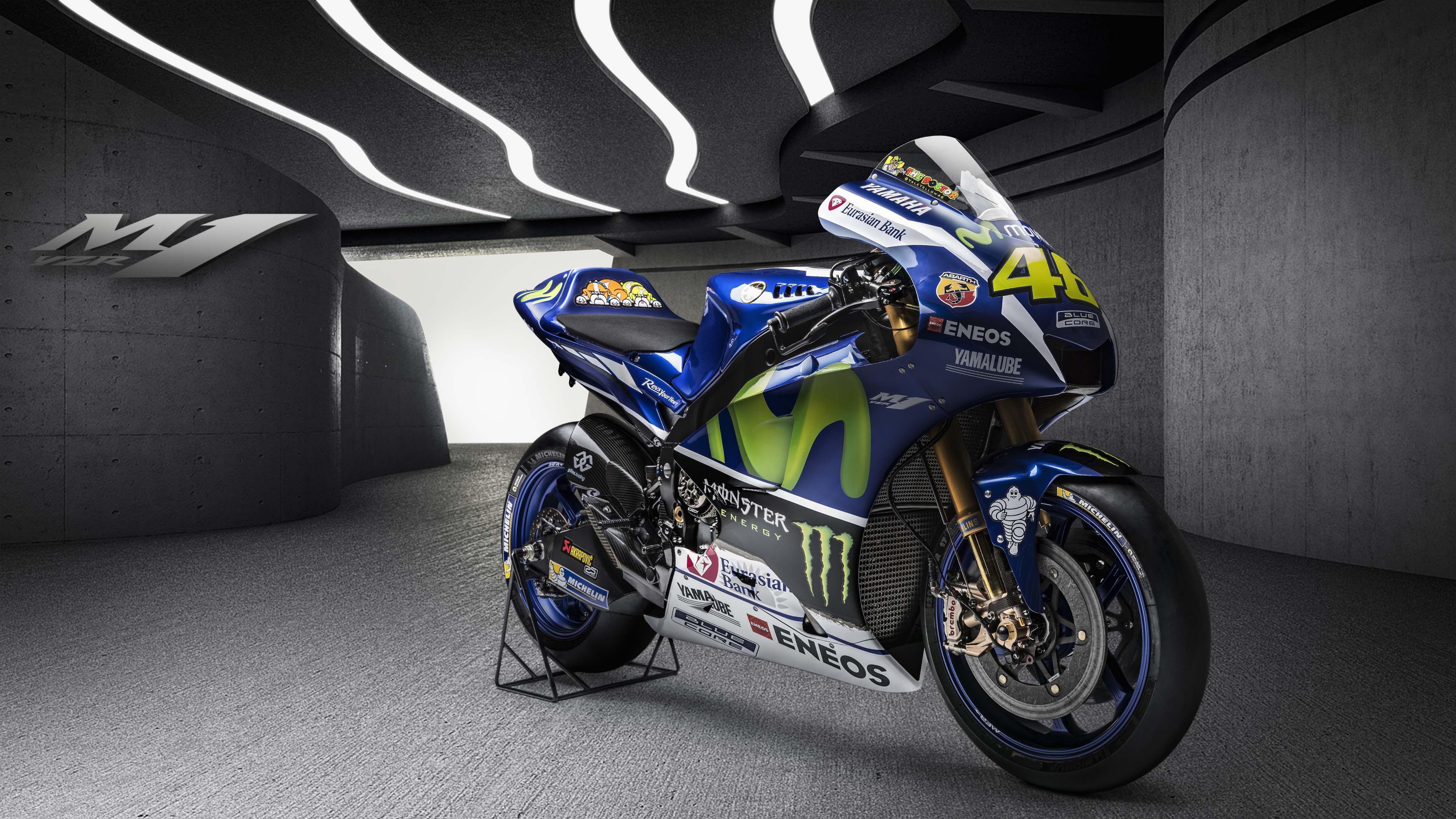 Yamaha YZR-M1 2018 Wallpapers