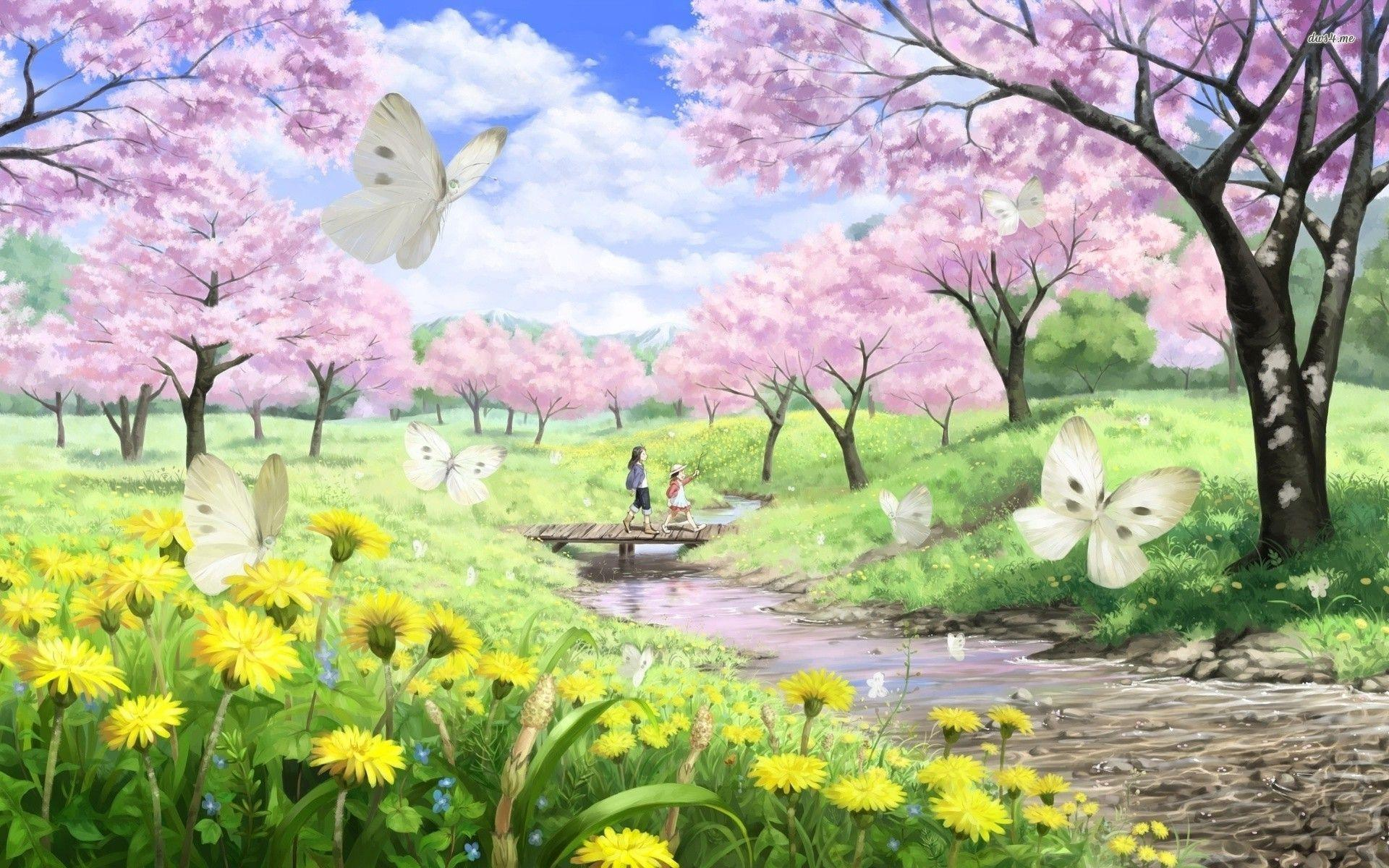 Spring Wallpaper - Wallpapers Browse