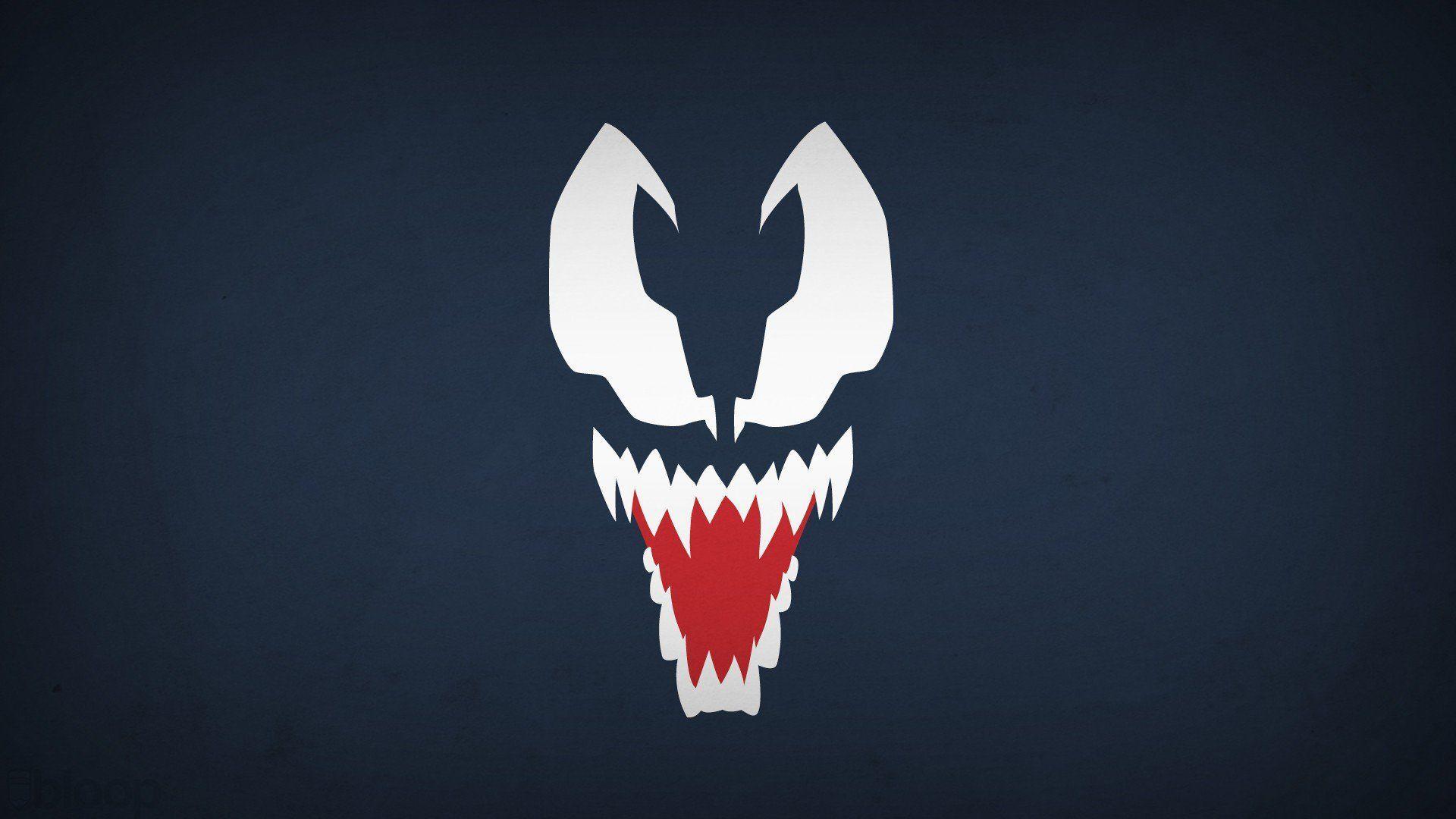 Venom Minimalist Wallpaper