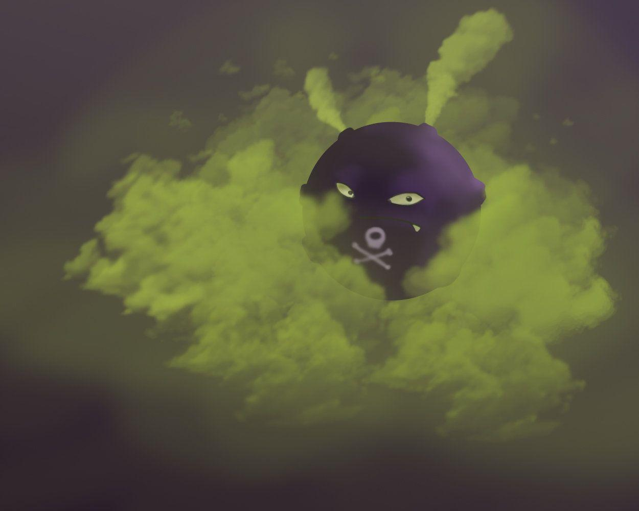 Koffing by SebiTheLost on DeviantArt