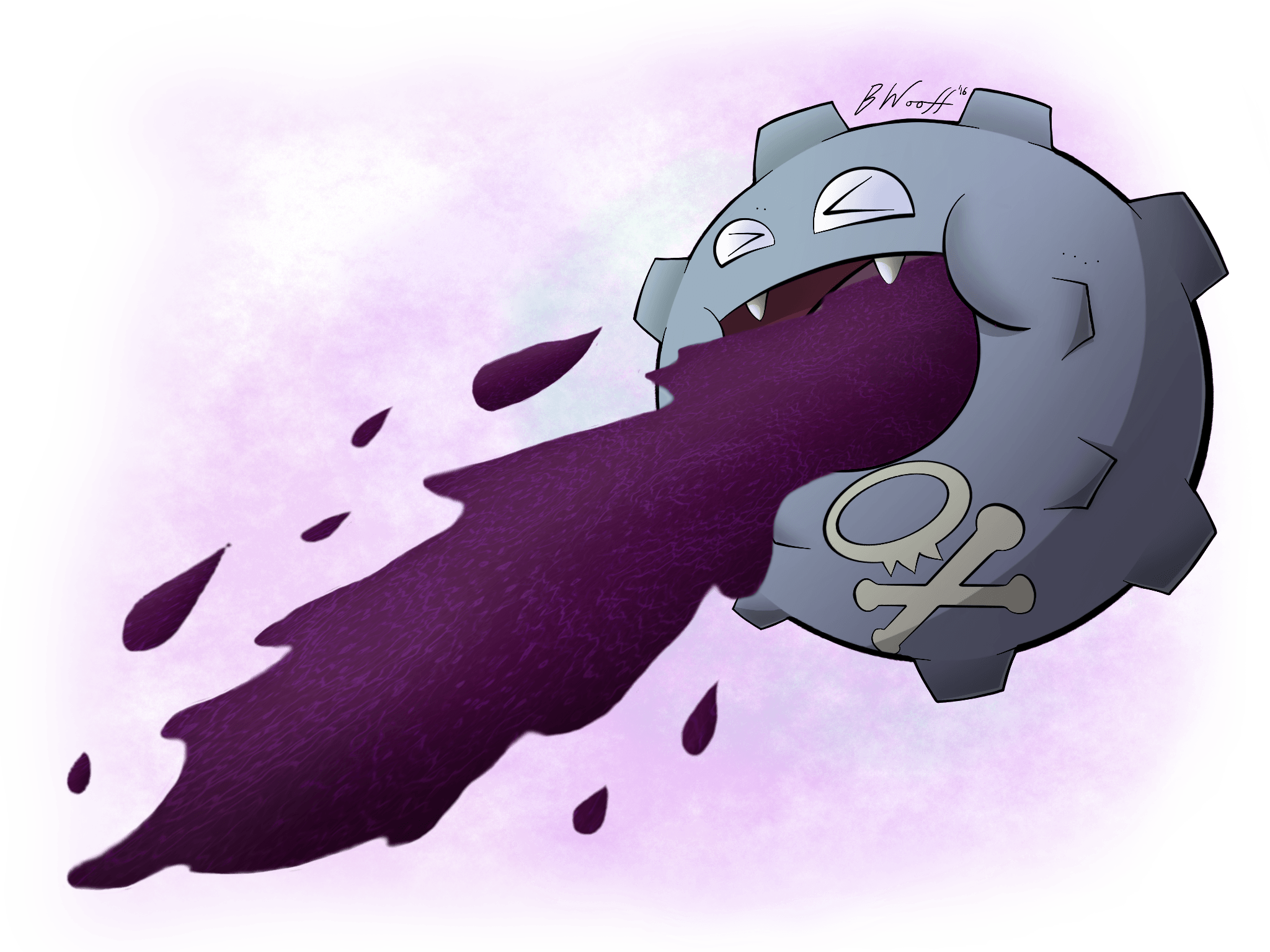 109 Koffing used Sludge and Poison Gas!