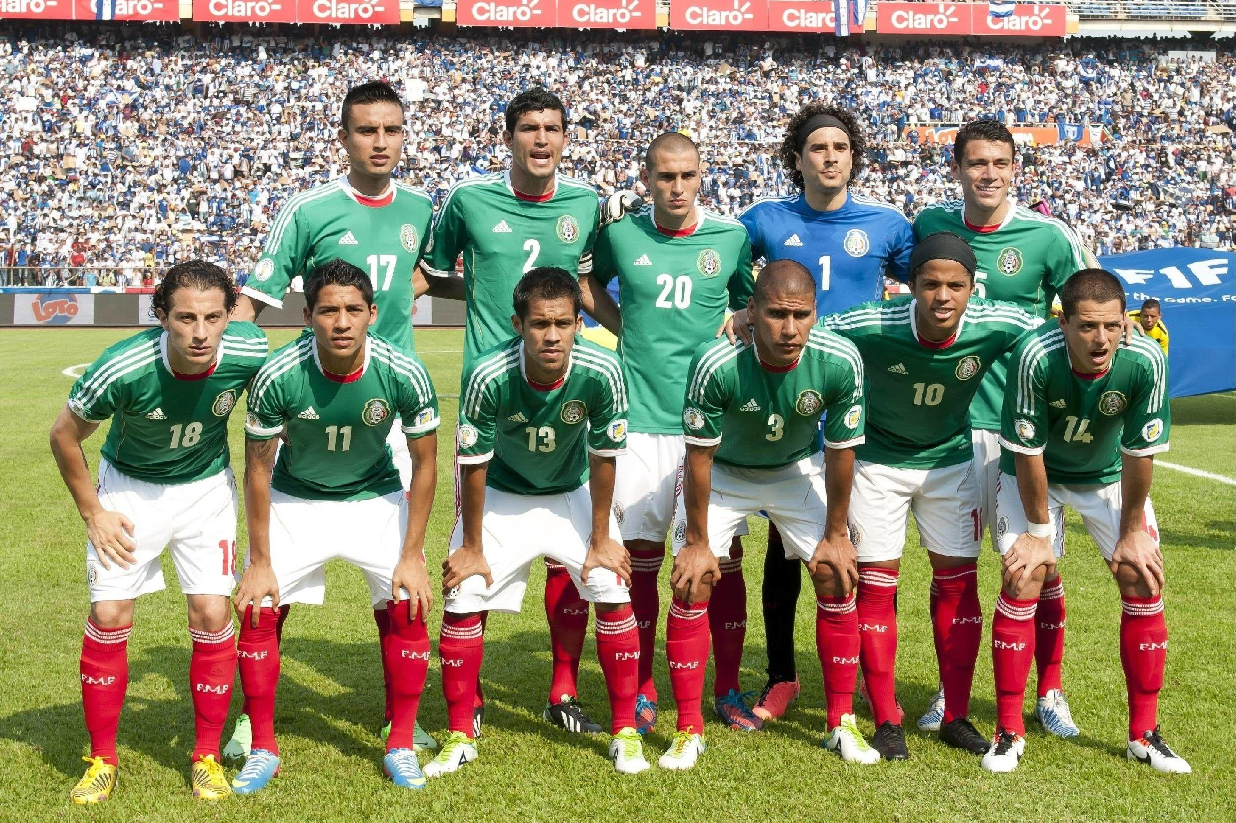 Mexico National Football Team Zoom Background 5