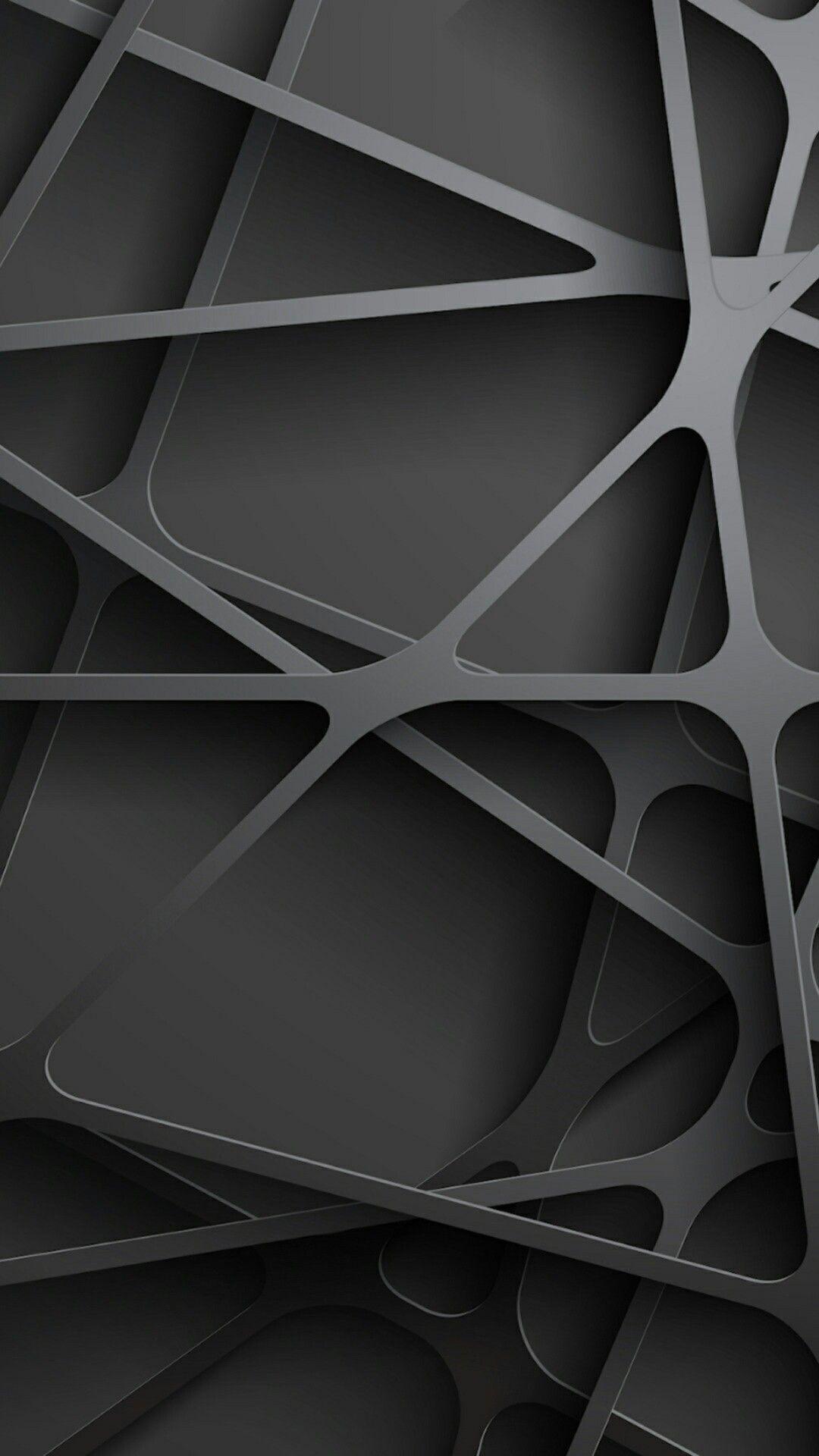 Black Geometric Wallpapers - Wallpaper Cave