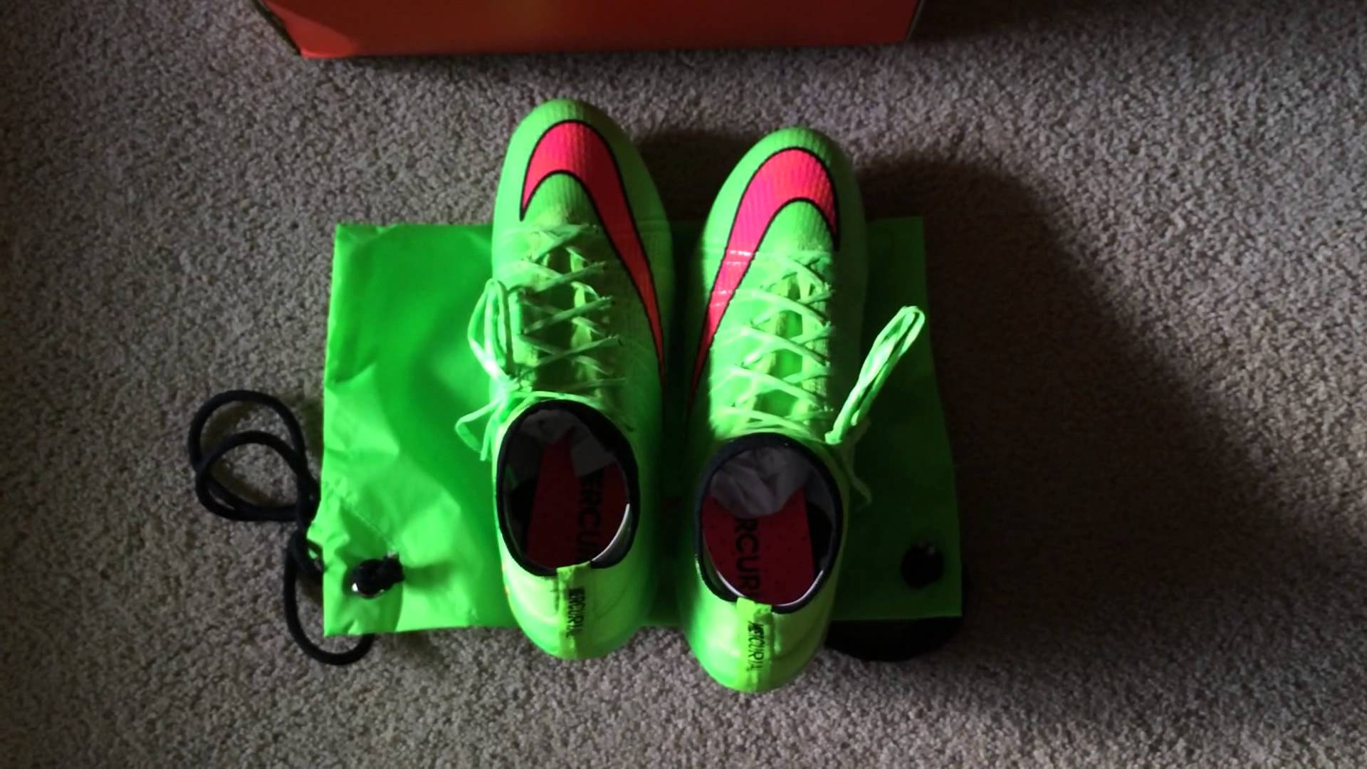 91964fc828e ... buy nike mercurial superfly 4 electric green unboxing on feet youtube  1933c bcce2