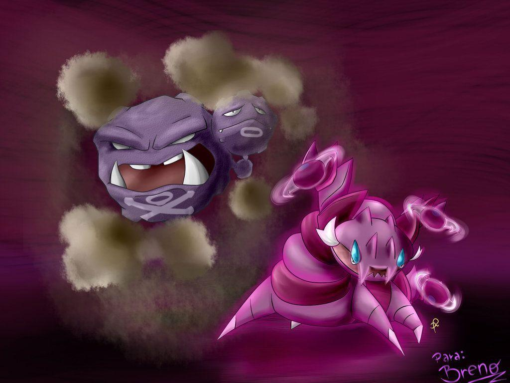 110 - Weezing and 452 - Drapion by diegoasilva on DeviantArt
