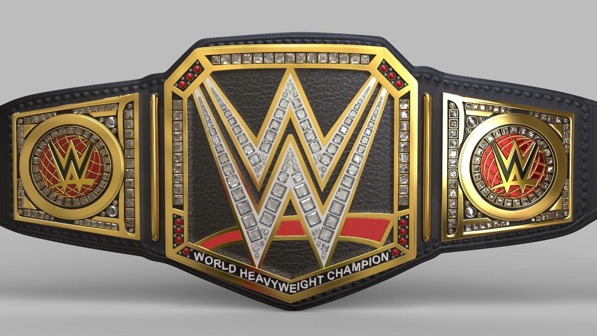 ArtStation - WWE Championships, Sam Hollick