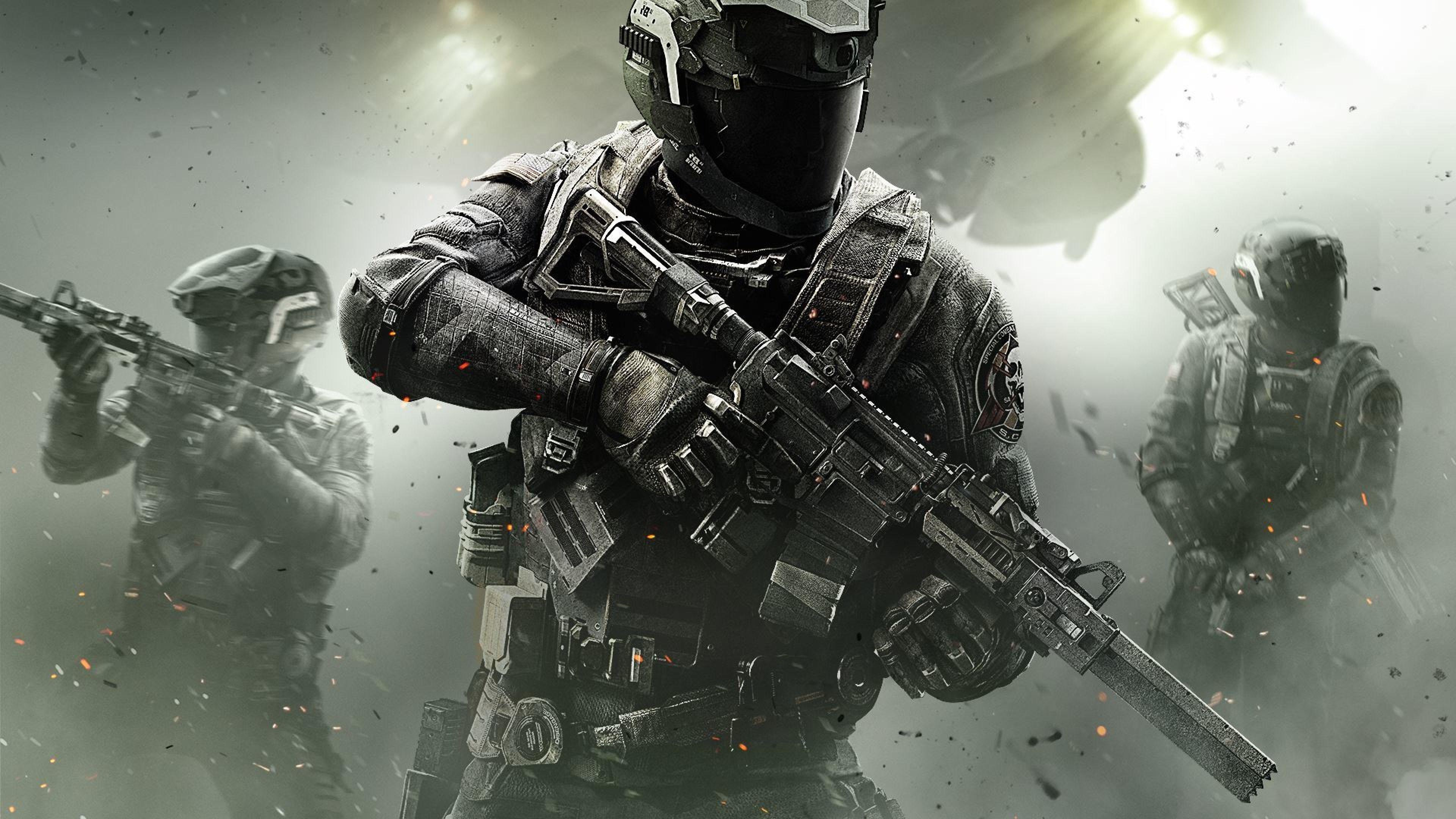 Download Wallpaper 3840x2160 Call of duty, Infinite warfare ...