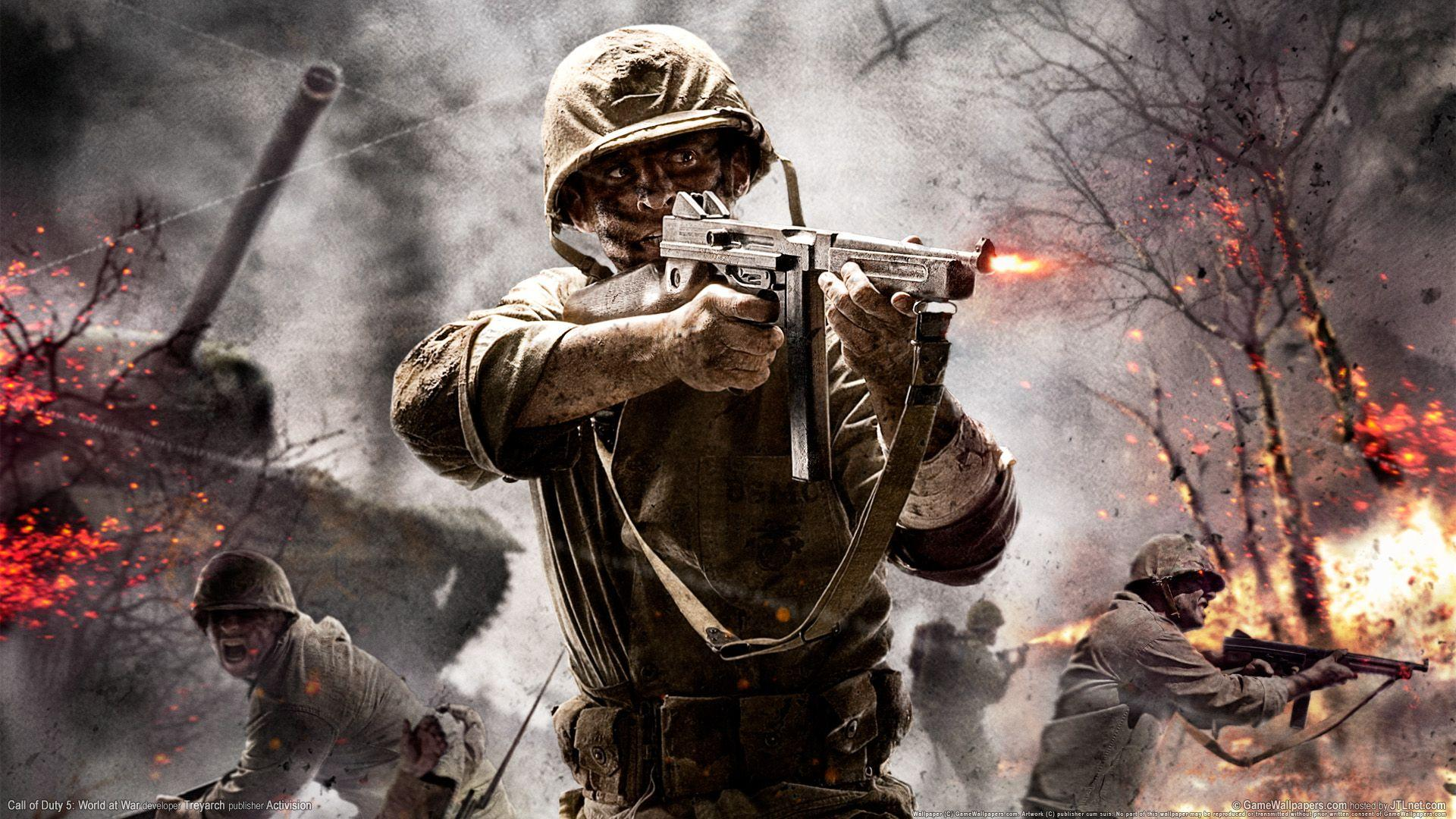 Call of Duty Game - http://www.0wallpapers.com/3170-call-of-duty ...