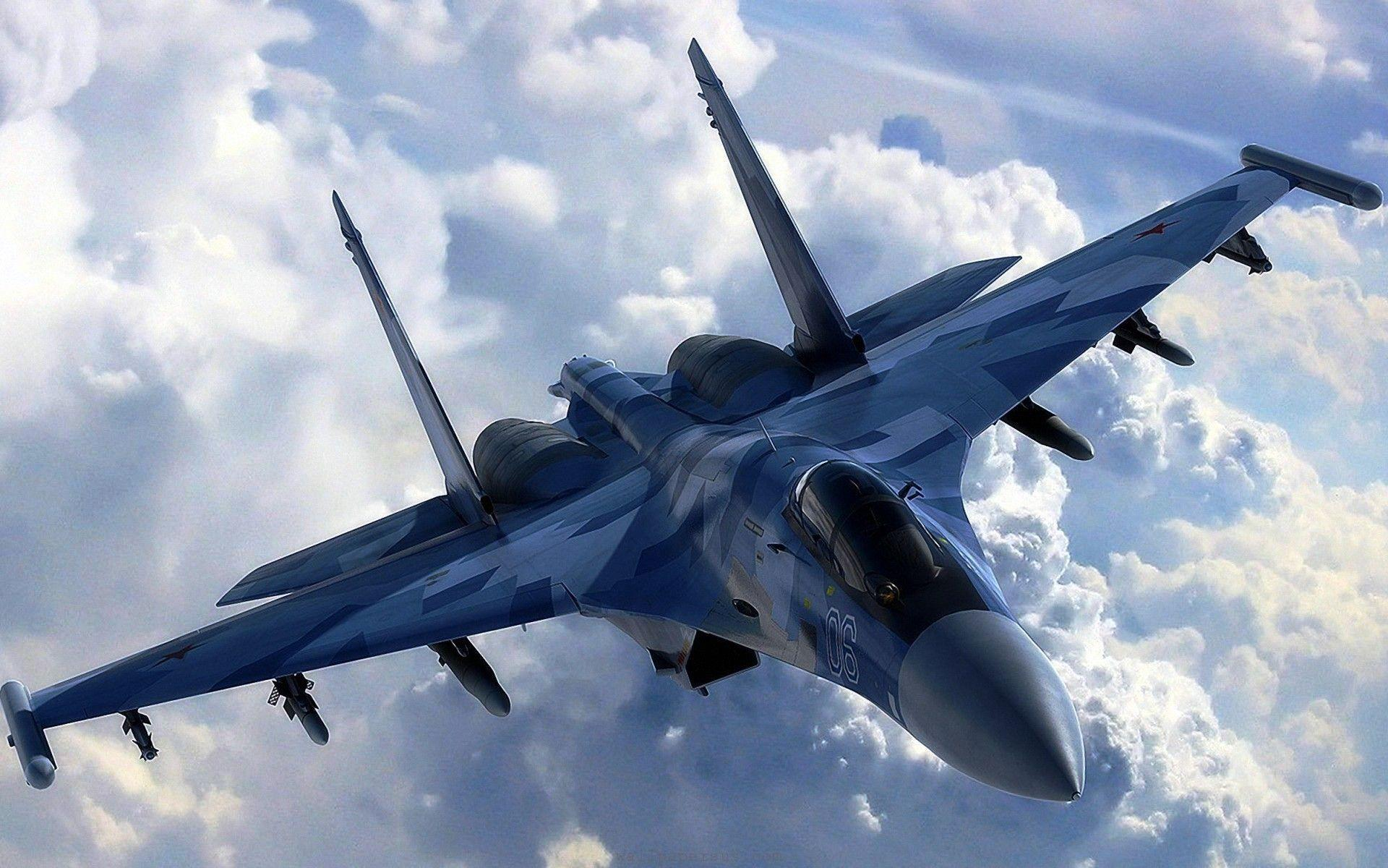 Sukhoi T-50 Jet Fighter Aircraft Wallpaper in high resolution free ...