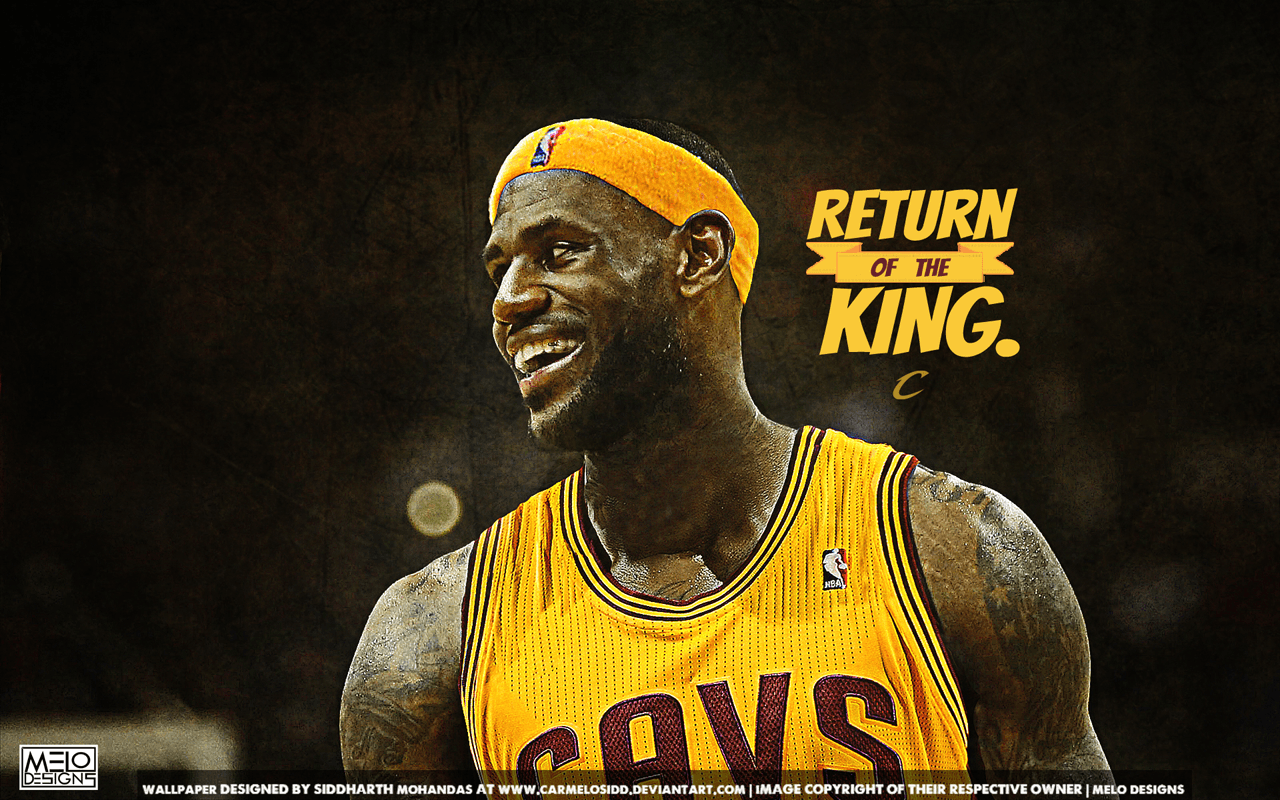 Cleveland Cavaliers Lebron James Wallpapers Wallpaper Cave