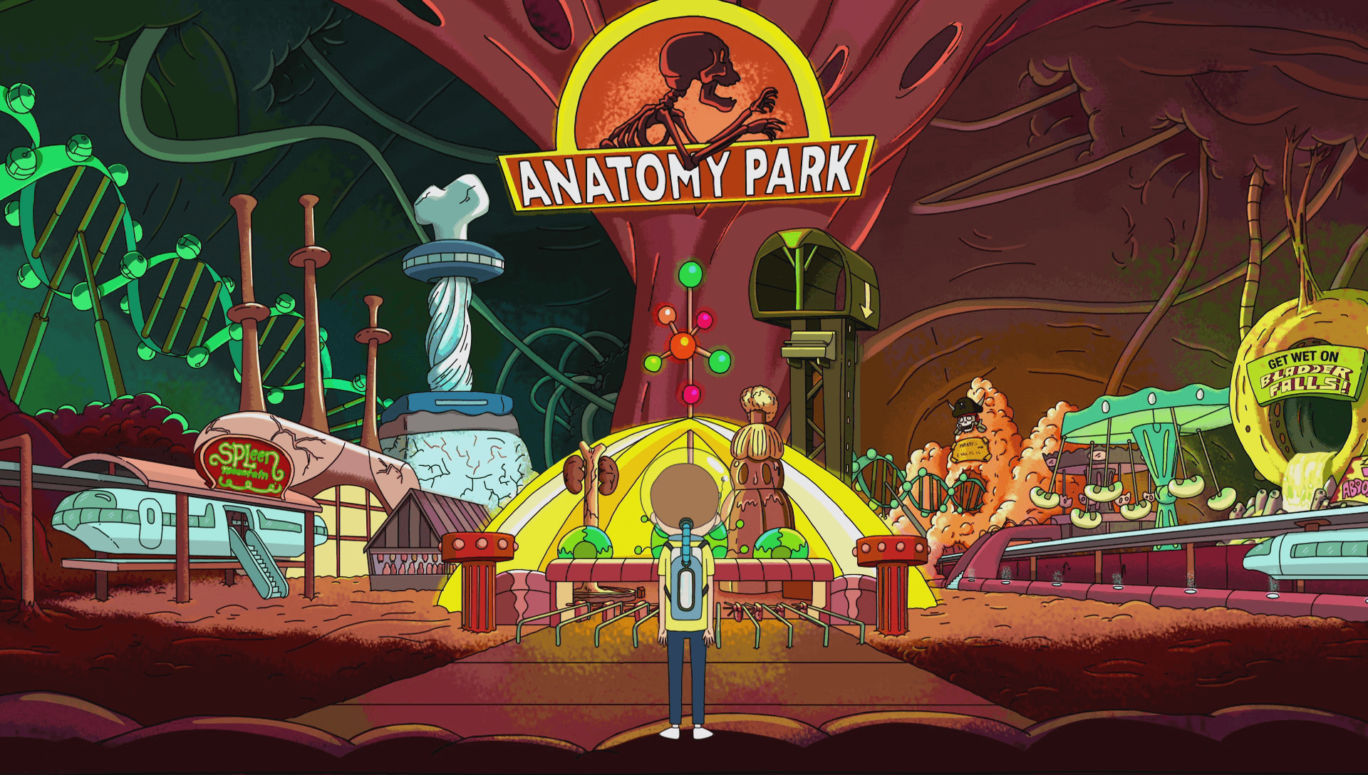 Anatomy Park (location) | Rick And Morty Wiki | FANDOM Powered By .