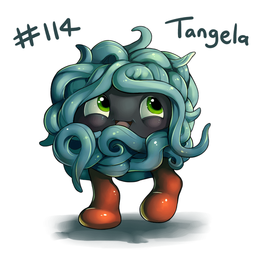 114 - Tangela by oddsocket on DeviantArt