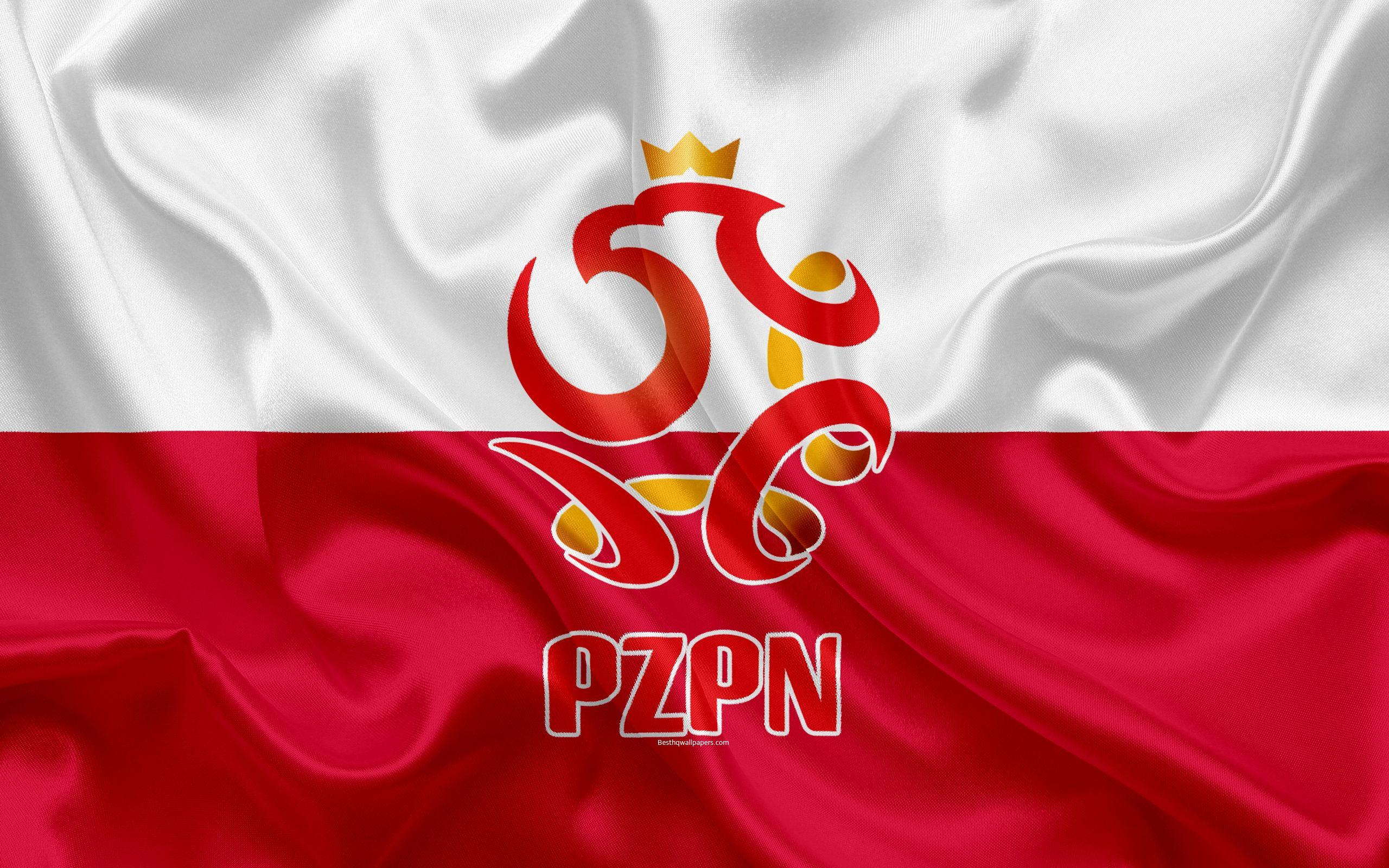Download wallpapers Poland national football team, emblem, logo