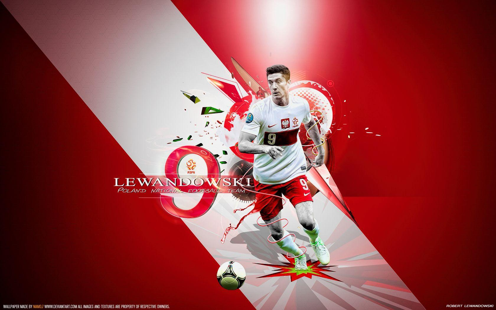 Lewandowski 9 Poland by namo,7 by 445578gfx