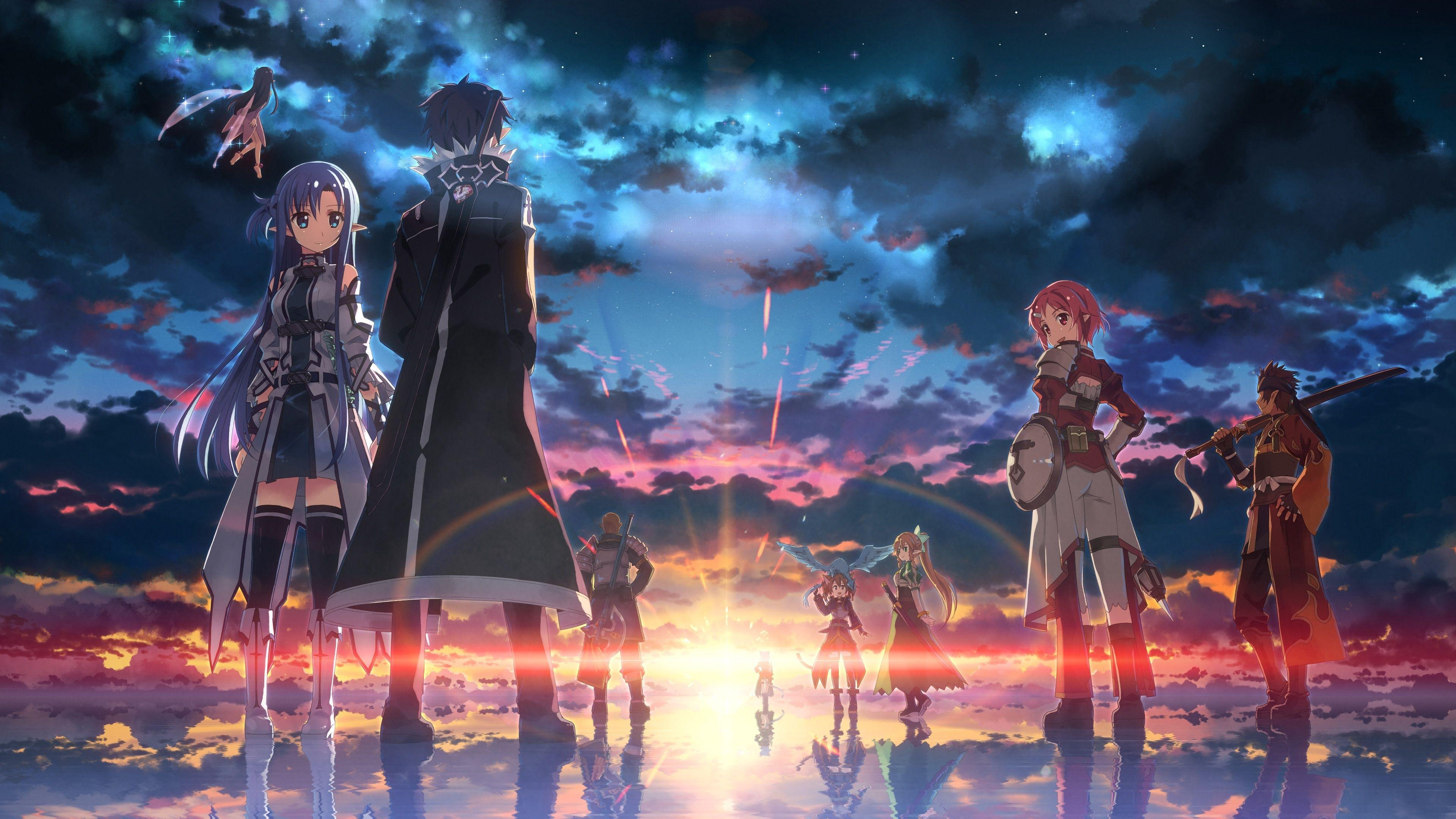 Sword Art Online Hd Wallpapers Wallpaper Cave