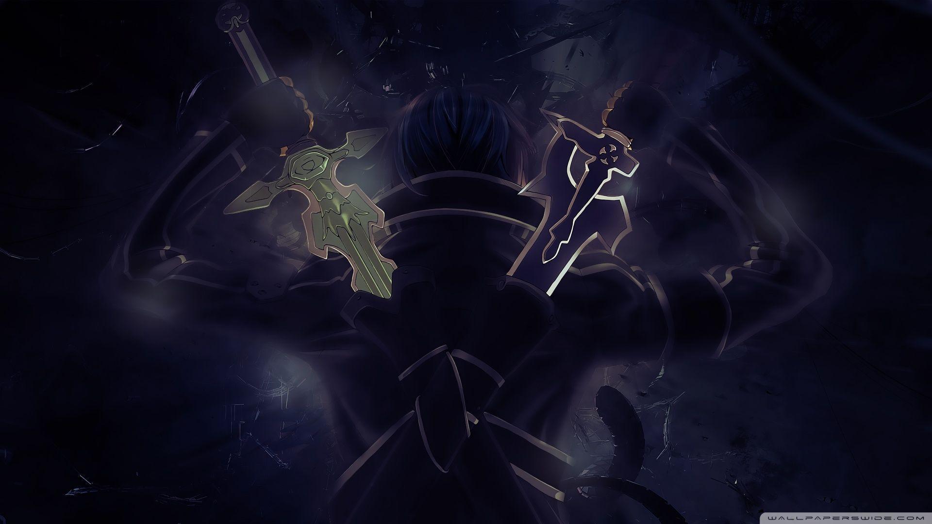 Sword Art Online, Kirito ❤ 4K HD Desktop Wallpaper for 4K Ultra .