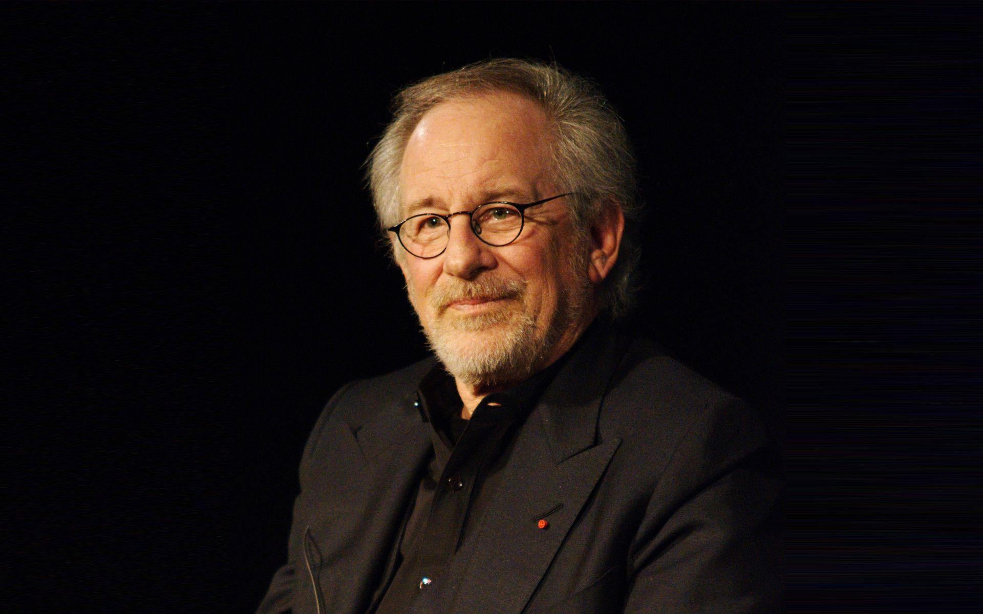 Wallpapers steven spielberg, face, glasses, film director