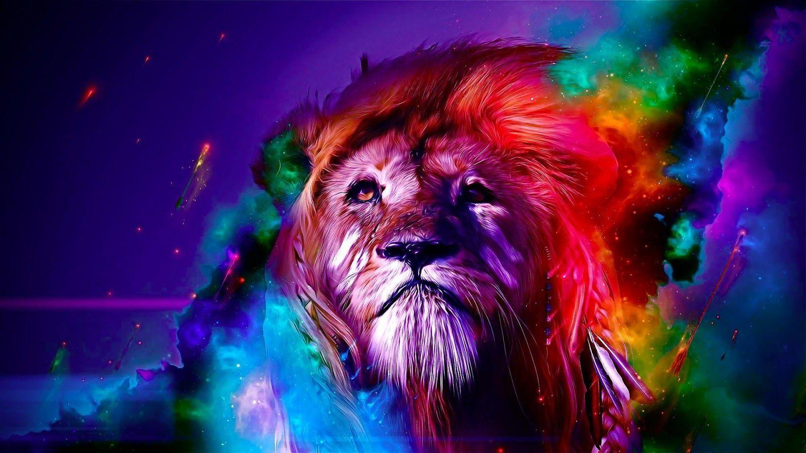 Rainbow Lion Wallpapers