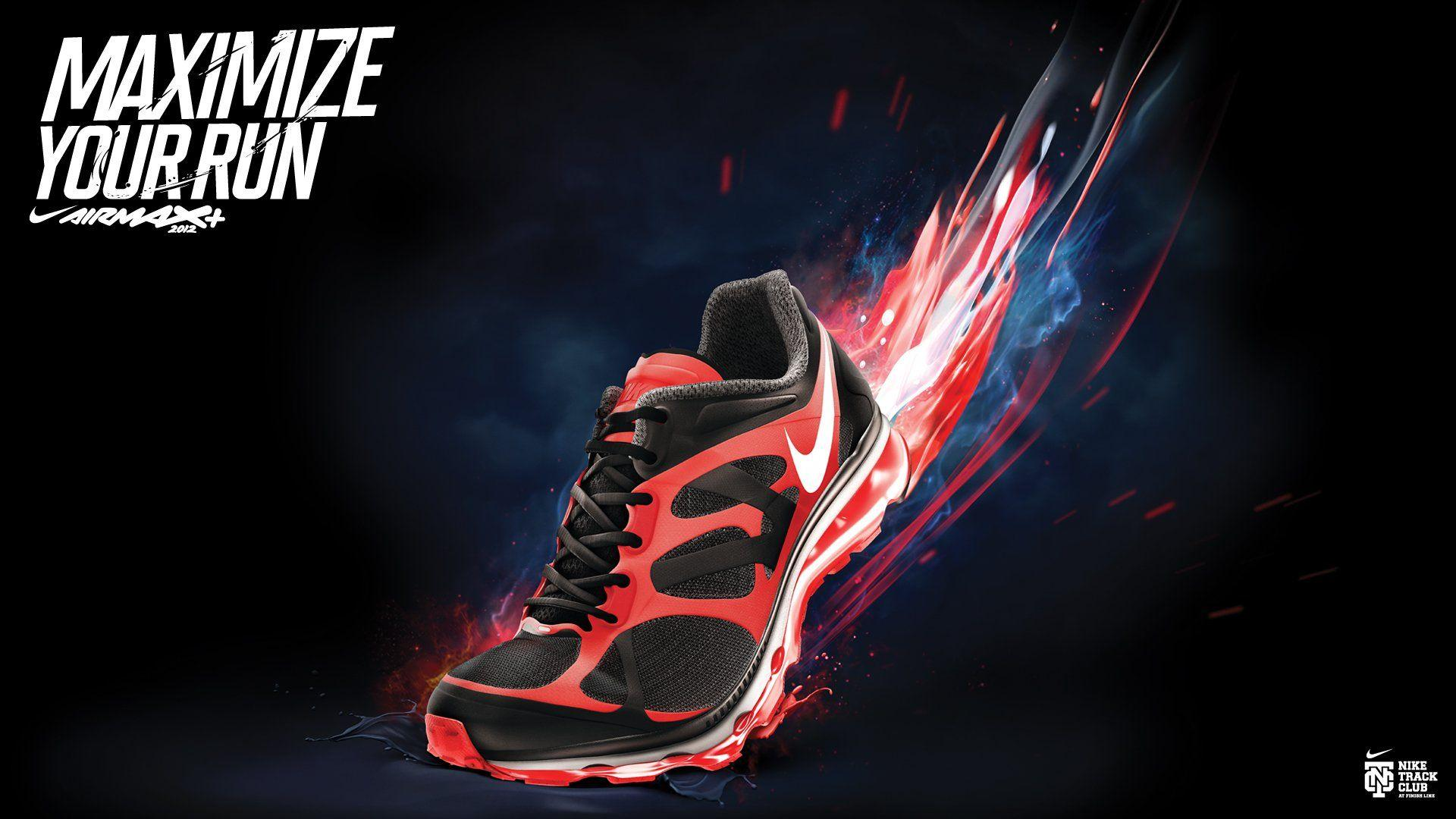 NIKE Sports Shoes Product Logo Poster Advertising Products 1nike G