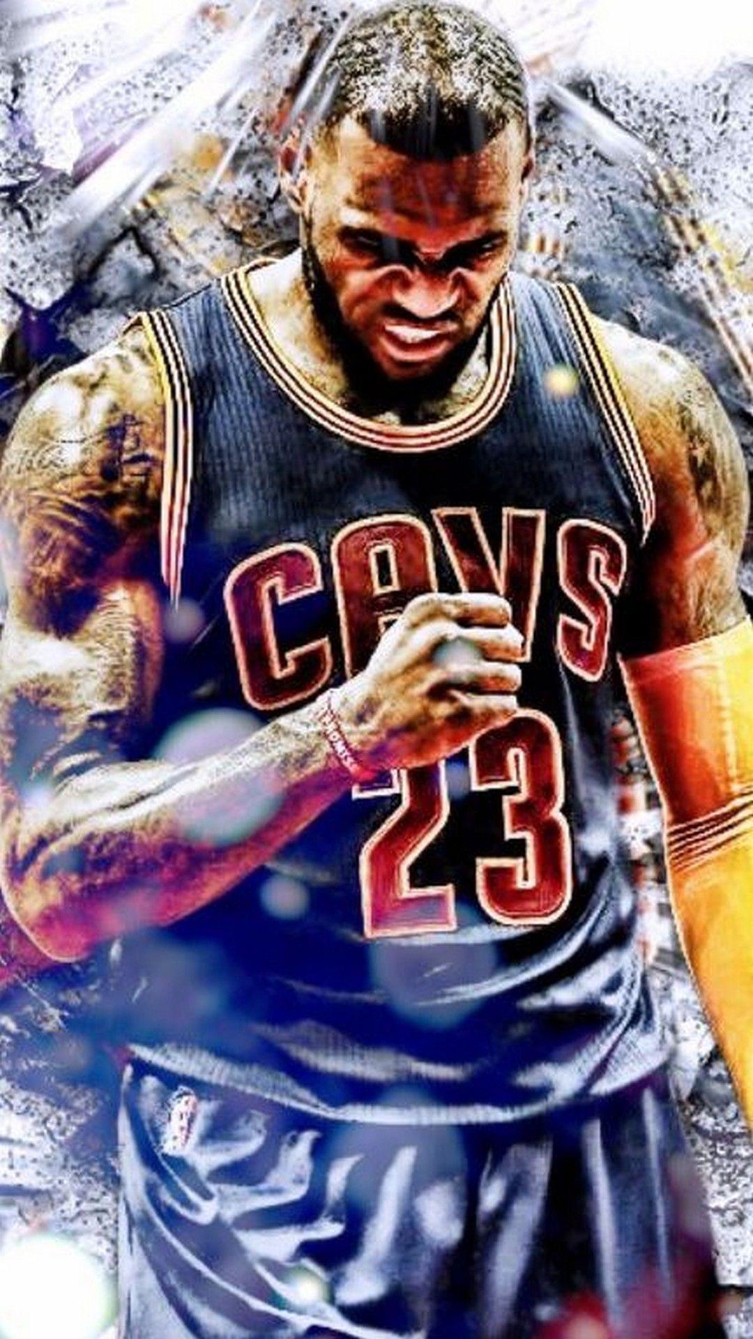 LeBron James Cavaliers IPhone Wallpaper