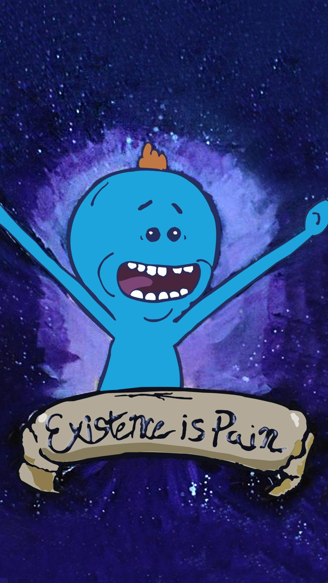 Mr Meeseeks Wallpapers Wallpaper Cave