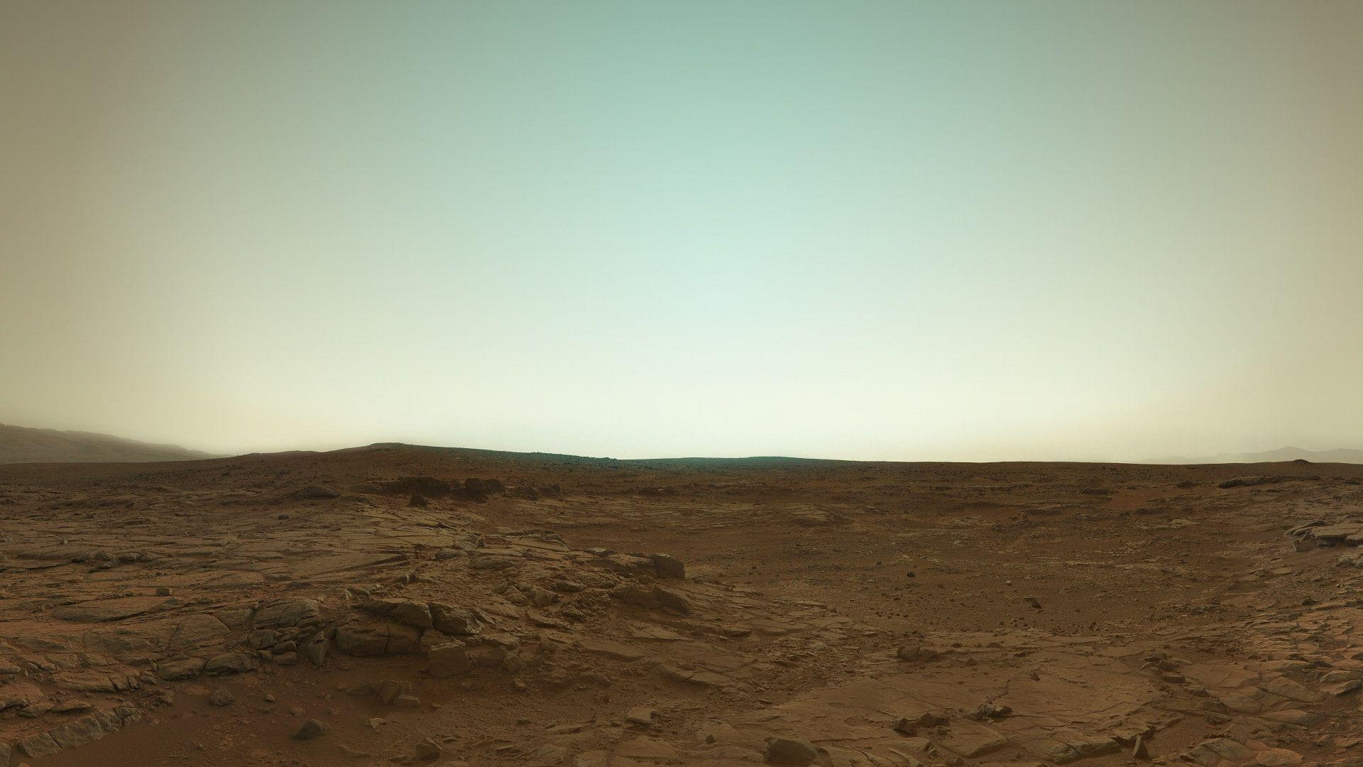 Mars in true color. Latest picture from Curiosity.
