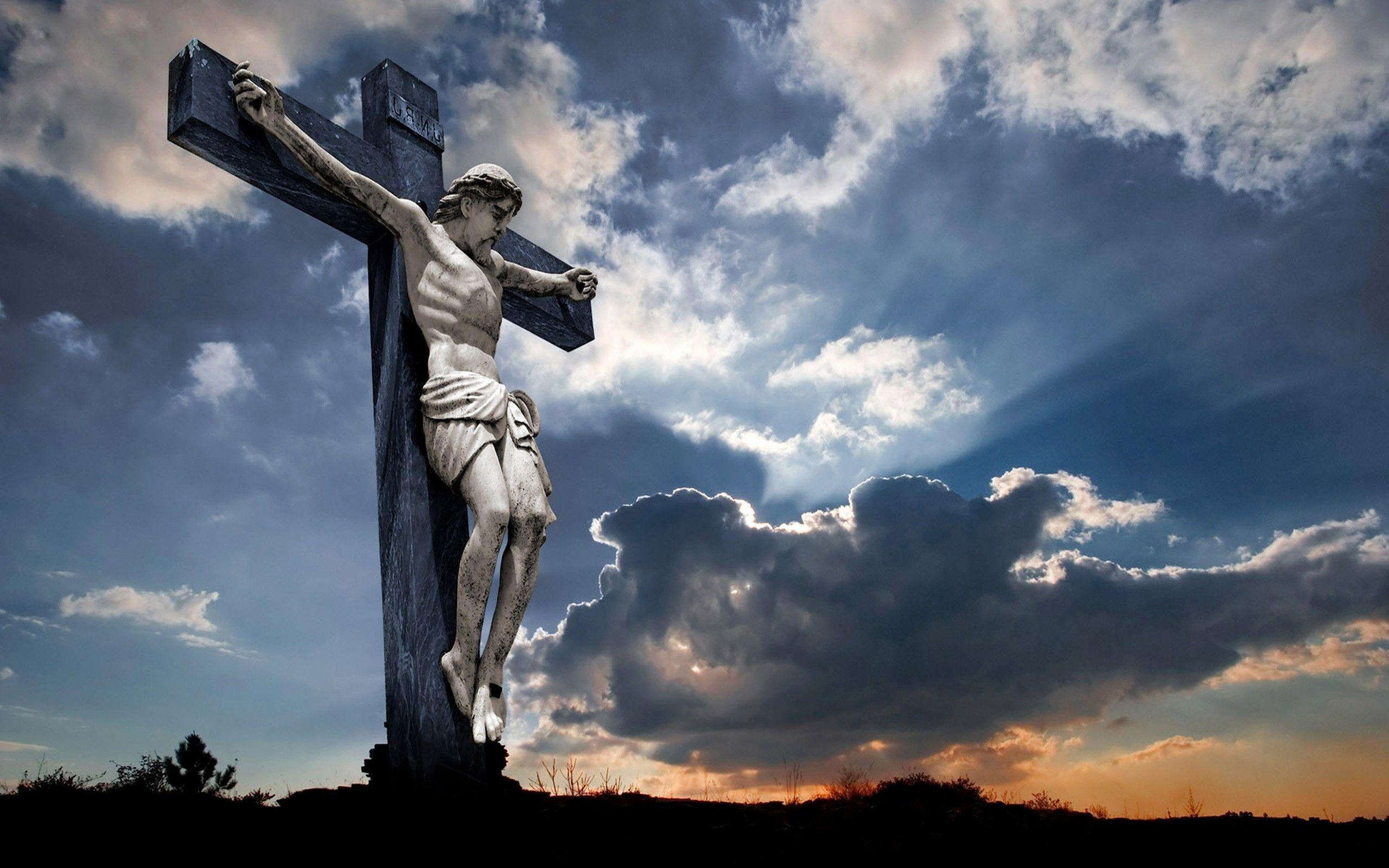 Jesus Christ on The Cross Wallpapers ·①