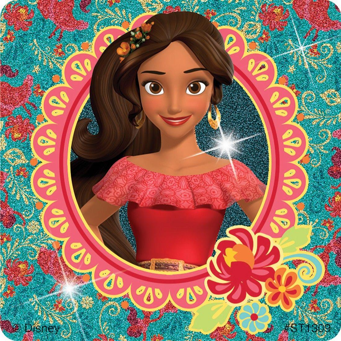 Elena of Avalor Glitter Stickers