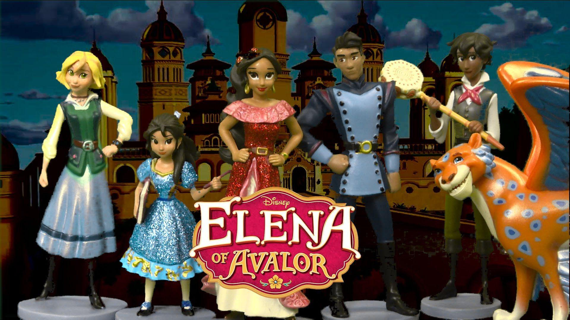 Elena of Avalor Figurine Playset from The Disney Store